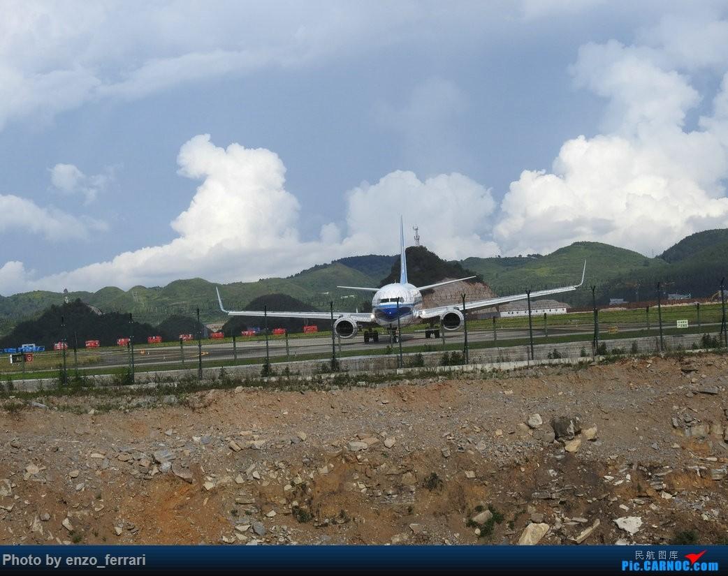 Re:[原创]【KWE】贵阳龙洞堡机场继续找位置拍飞机 BOEING 737-800 B-1955 中国贵阳龙洞堡国际机场