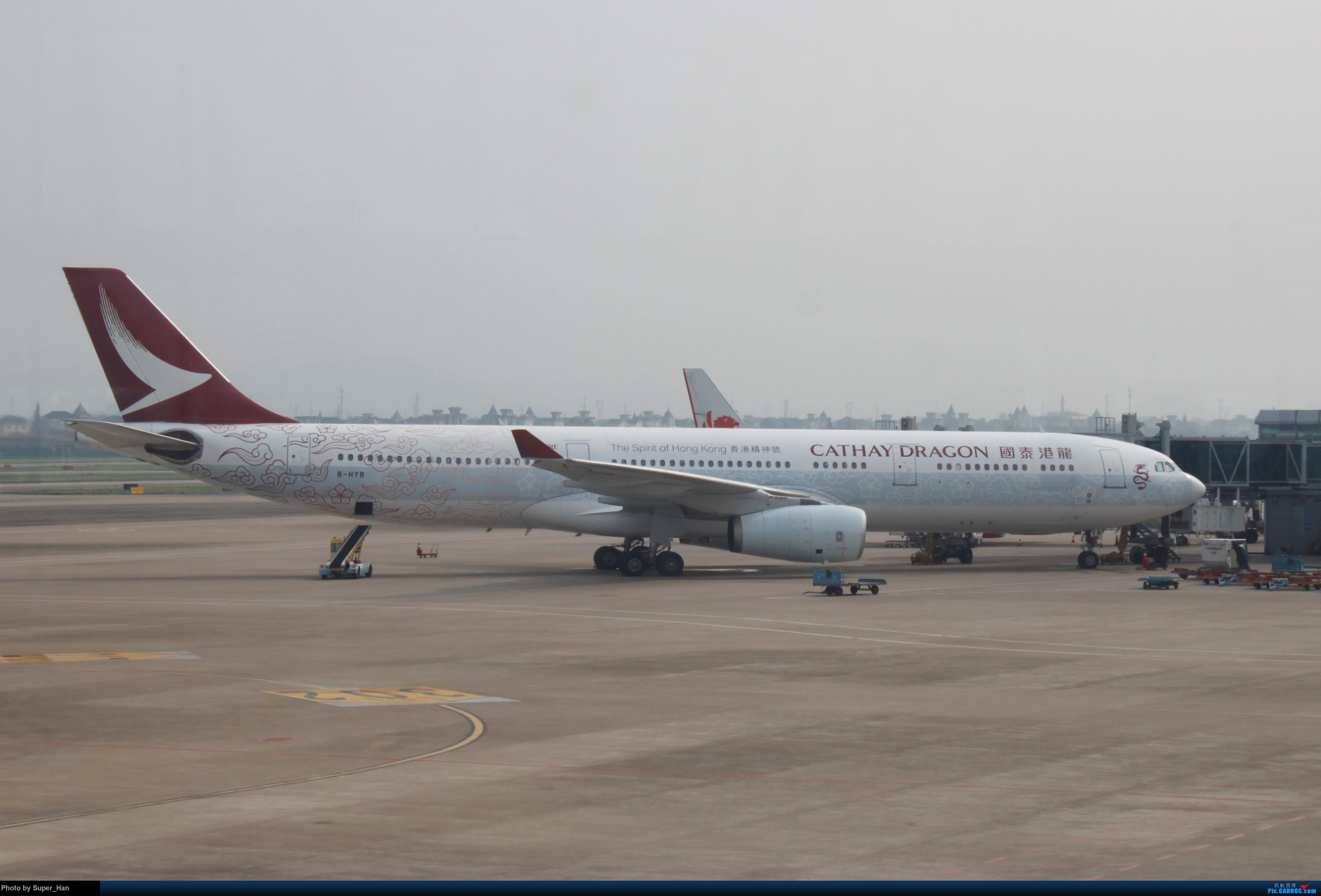 Re:[原创]HGH-SZX CAN-SHA AIRBUS A330-300 B-HYB 中国杭州萧山国际机场