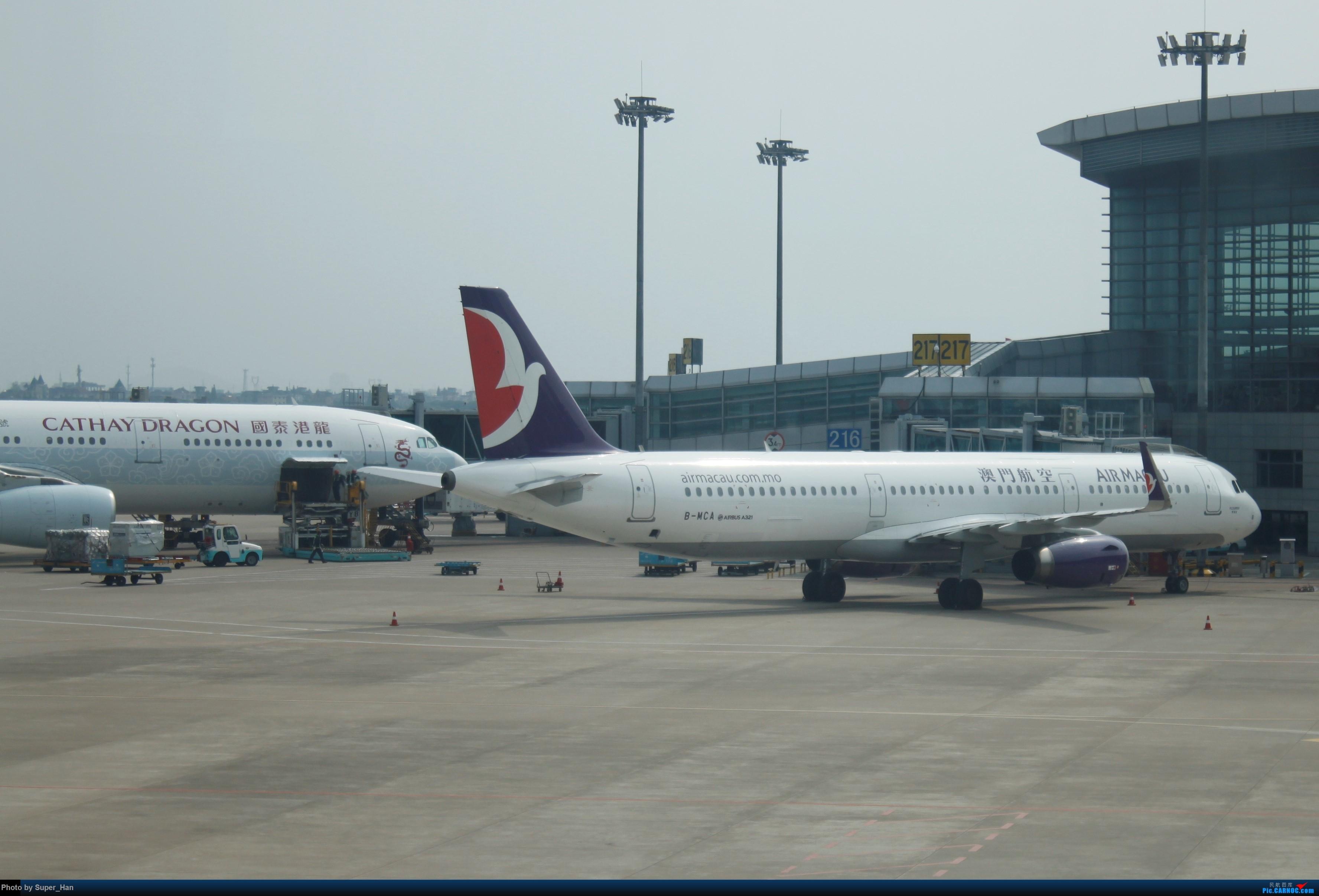 Re:[原创]HGH-SZX CAN-SHA AIRBUS A321-200 B-MCA 中国杭州萧山国际机场
