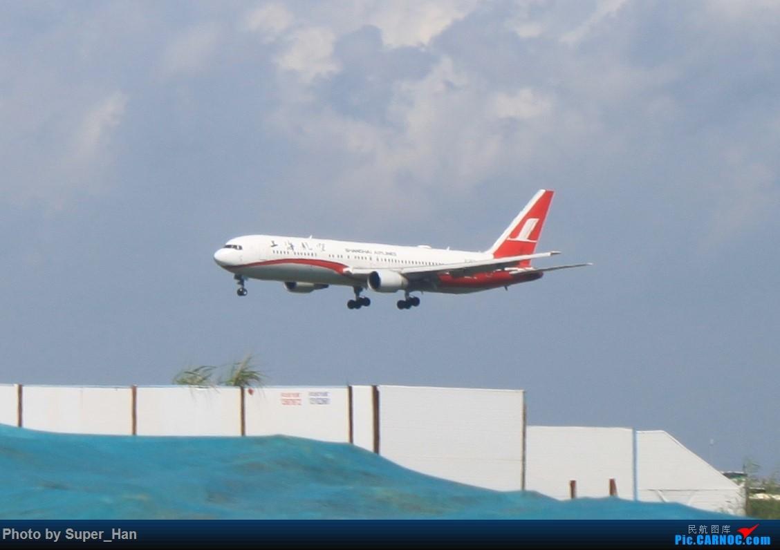 Re:[原创]HGH-SZX CAN-SHA BOEING 767-300 B-2570 中国深圳宝安国际机场