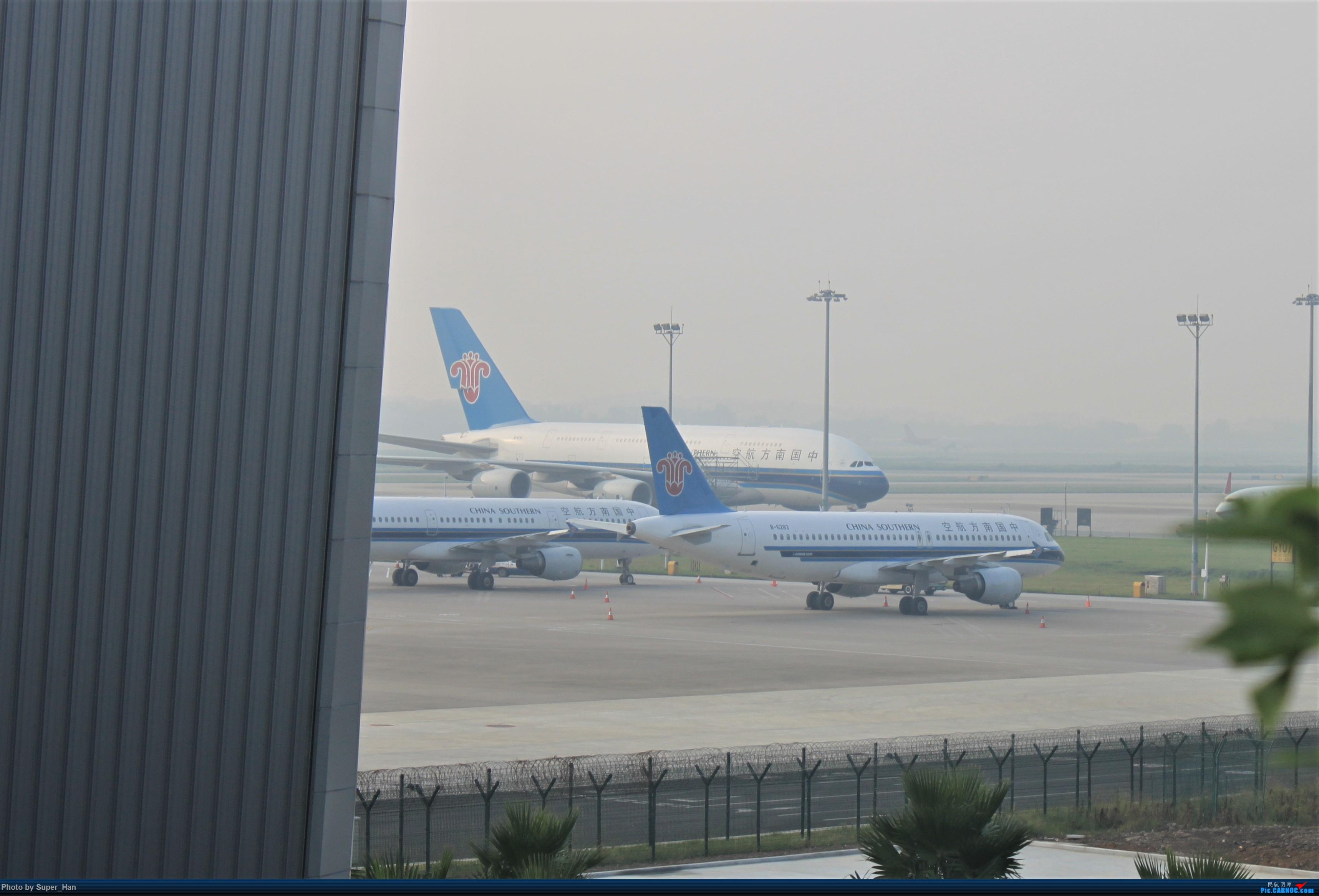 Re:[原创]HGH-SZX CAN-SHA AIRBUS A380 B-6136 中国广州白云国际机场