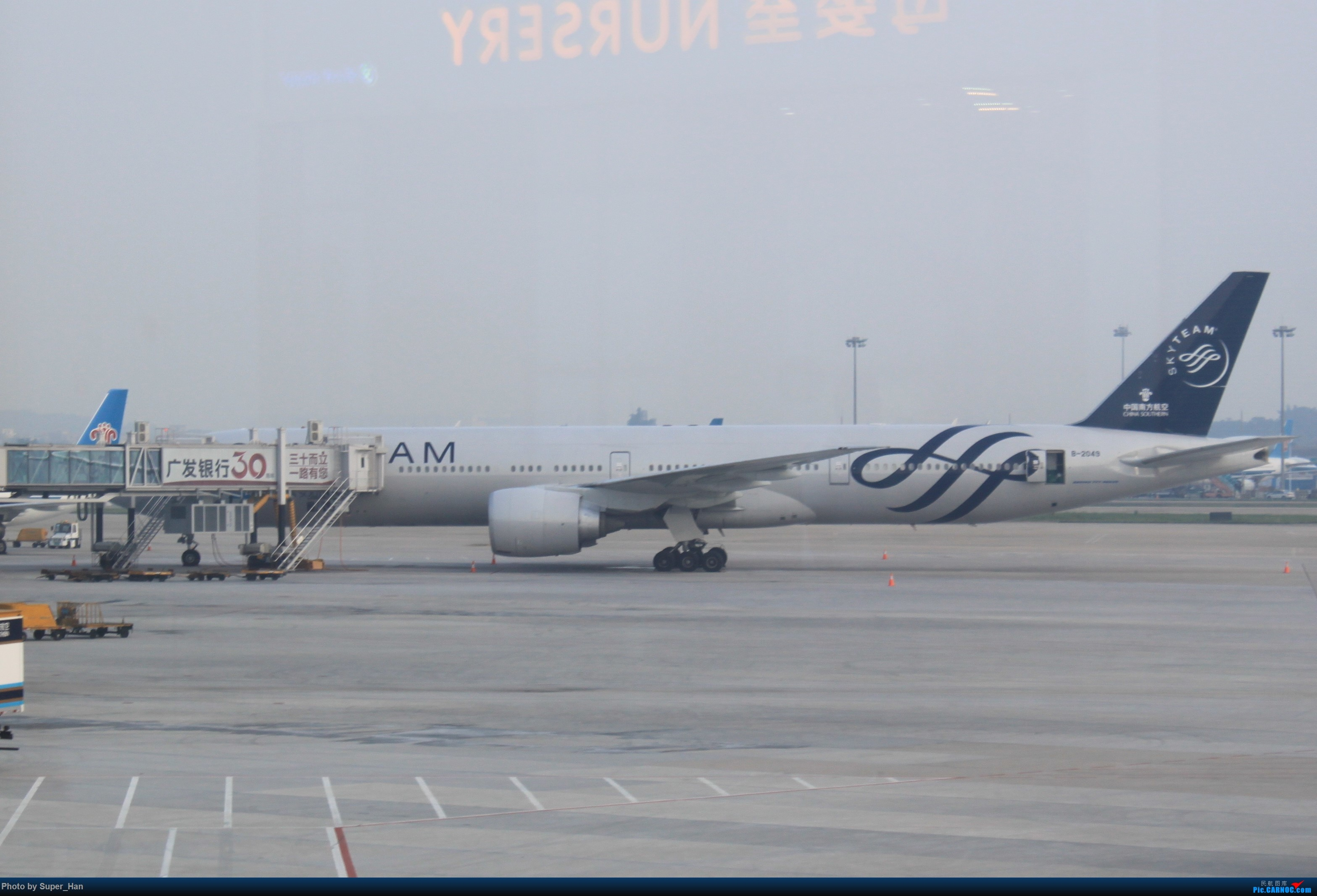 Re:HGH-SZX CAN-SHA BOEING 777-300ER B-2049 中国广州白云国际机场