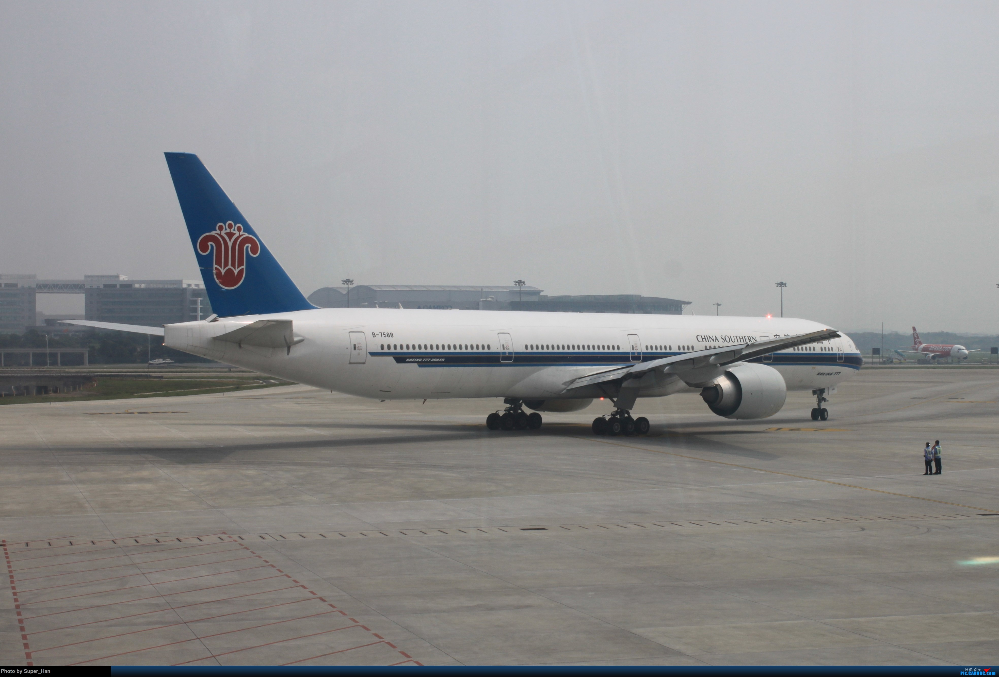 Re:[原创]HGH-SZX CAN-SHA BOEING 777-300ER B-7588 中国广州白云国际机场