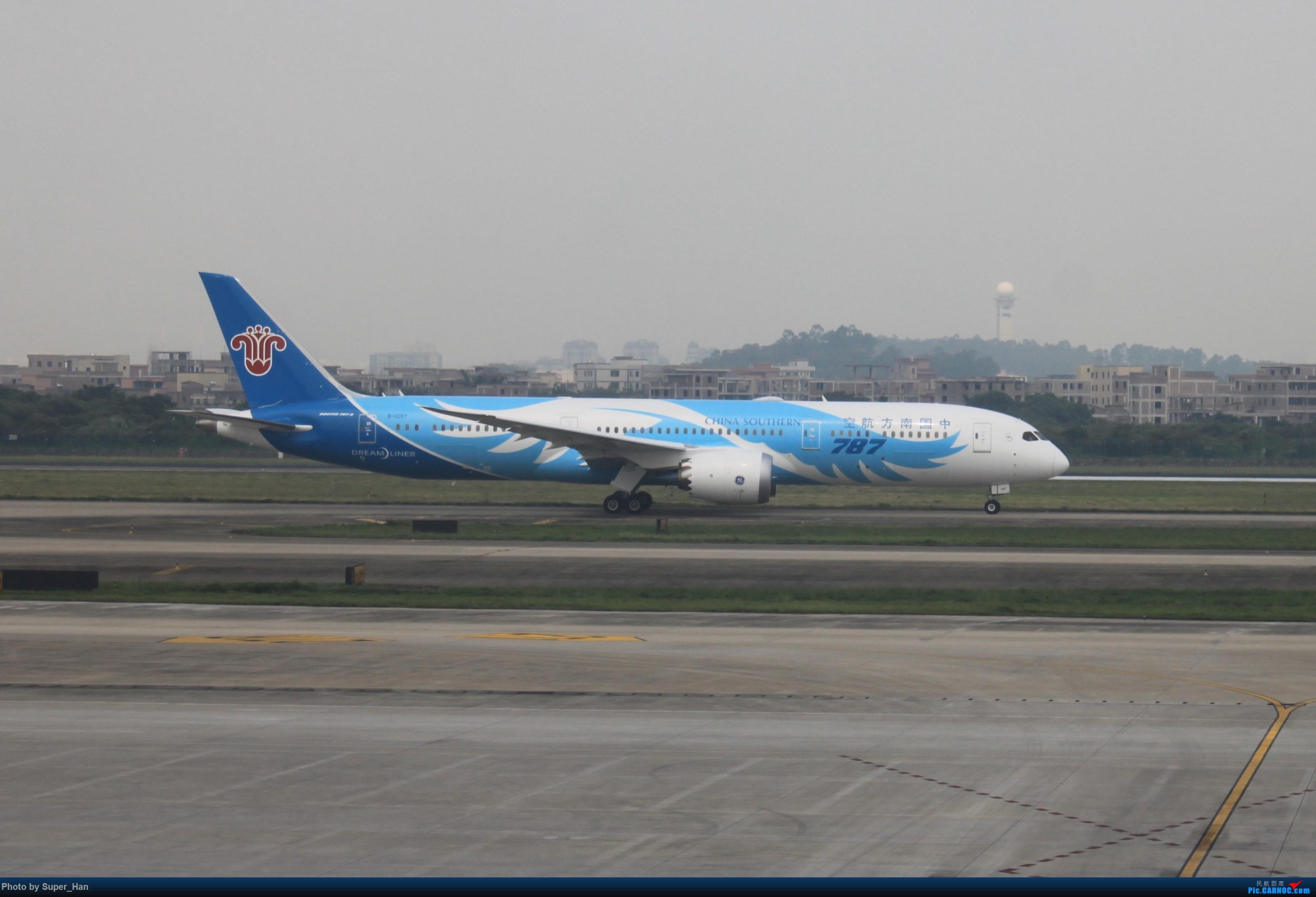Re:[原创]HGH-SZX CAN-SHA BOEING 787-9 B-1297 中国广州白云国际机场