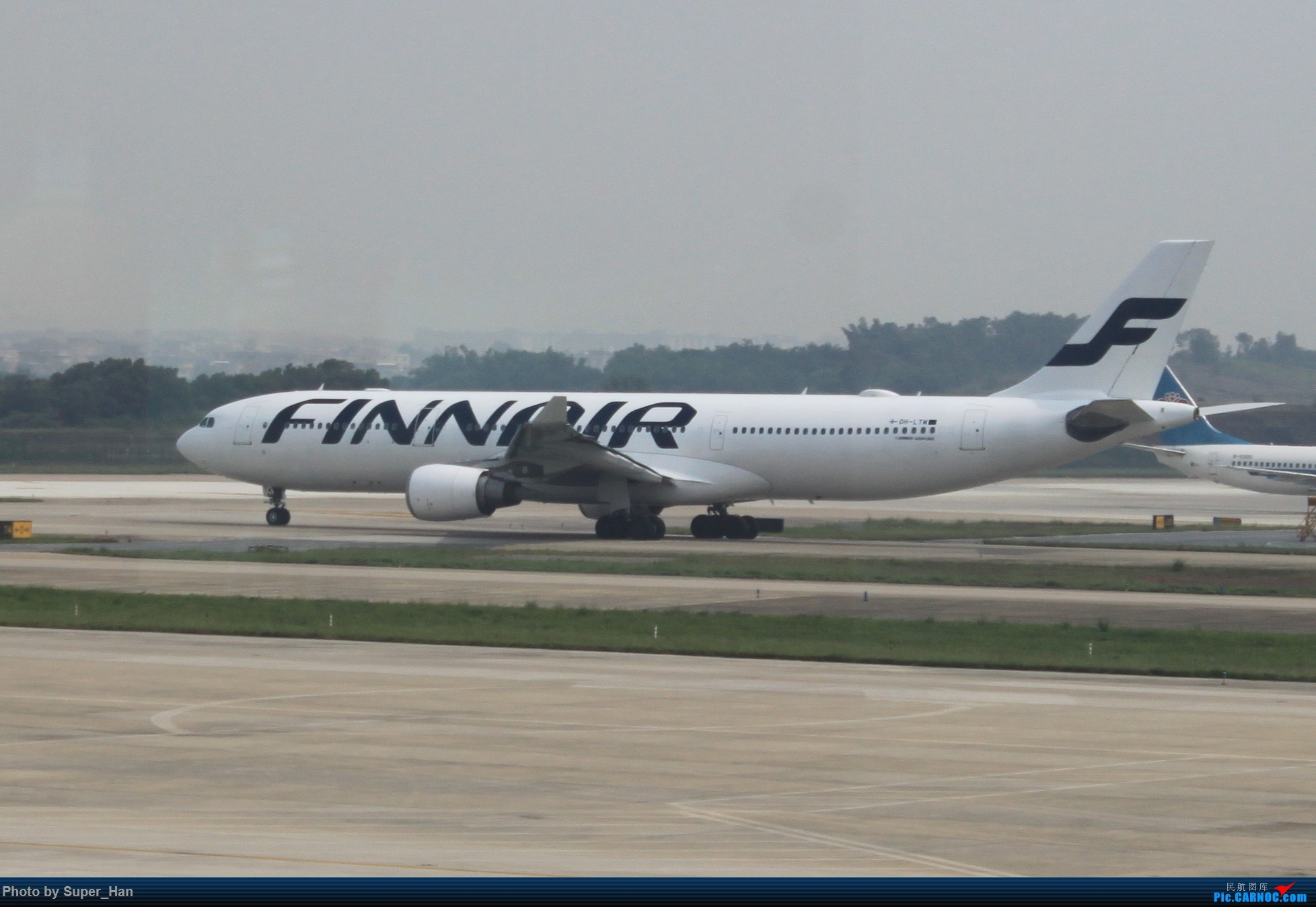 Re:[原创]HGH-SZX CAN-SHA AIRBUS A330-300 OH-LTM 中国广州白云国际机场