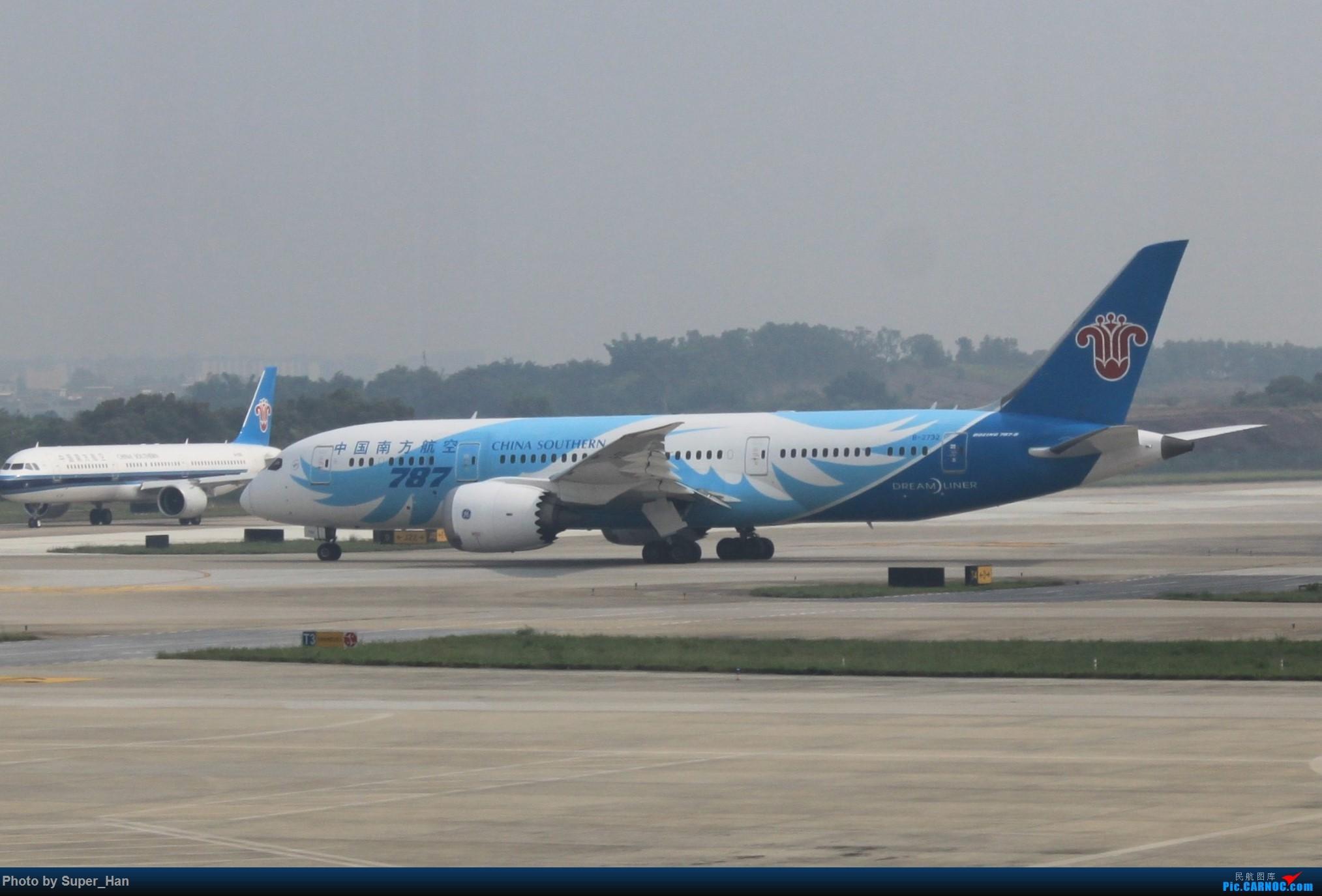 Re:[原创]HGH-SZX CAN-SHA BOEING 787-8 B-2732 中国广州白云国际机场