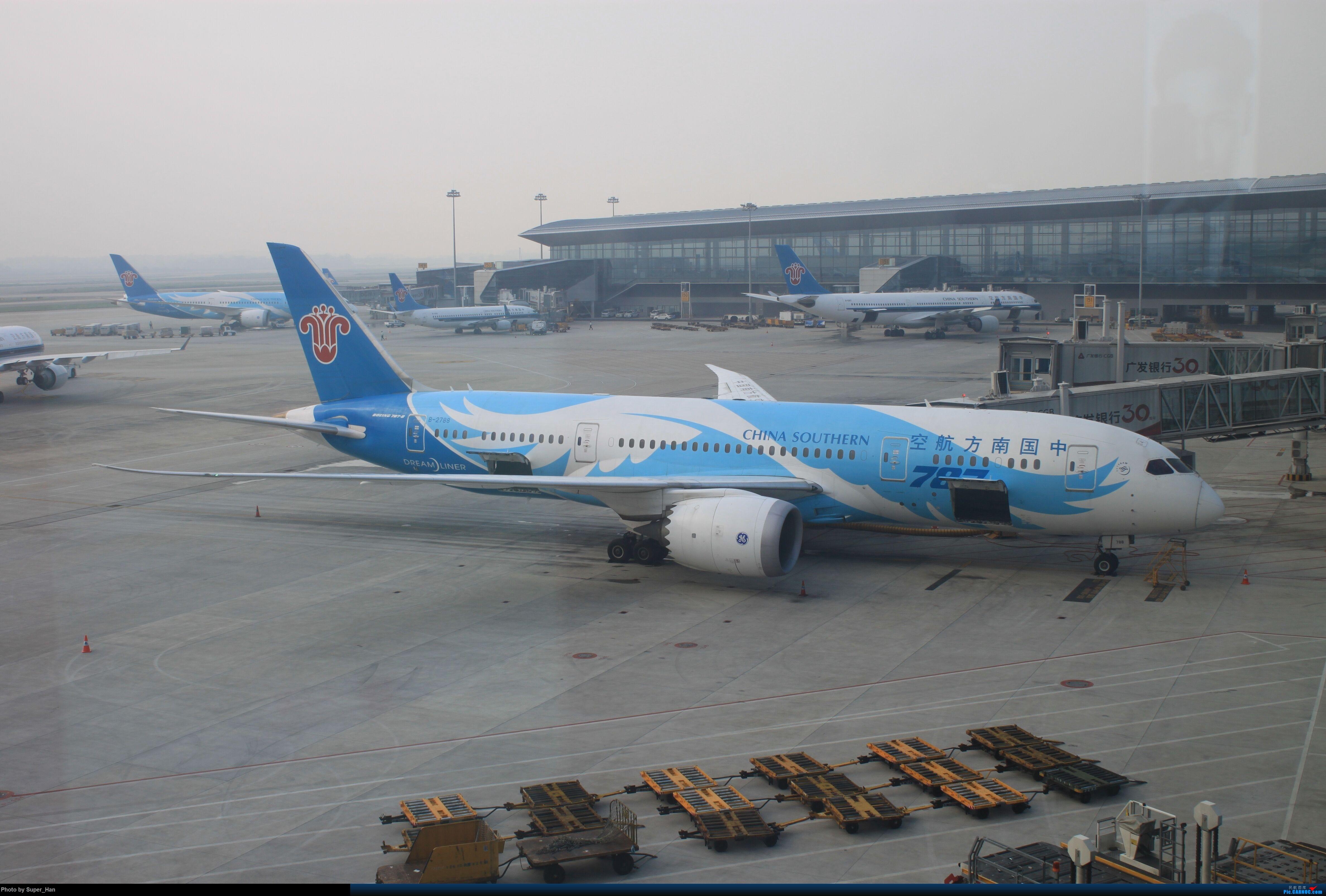 Re:[原创]HGH-SZX CAN-SHA BOEING 787-8 B-2788 中国广州白云国际机场