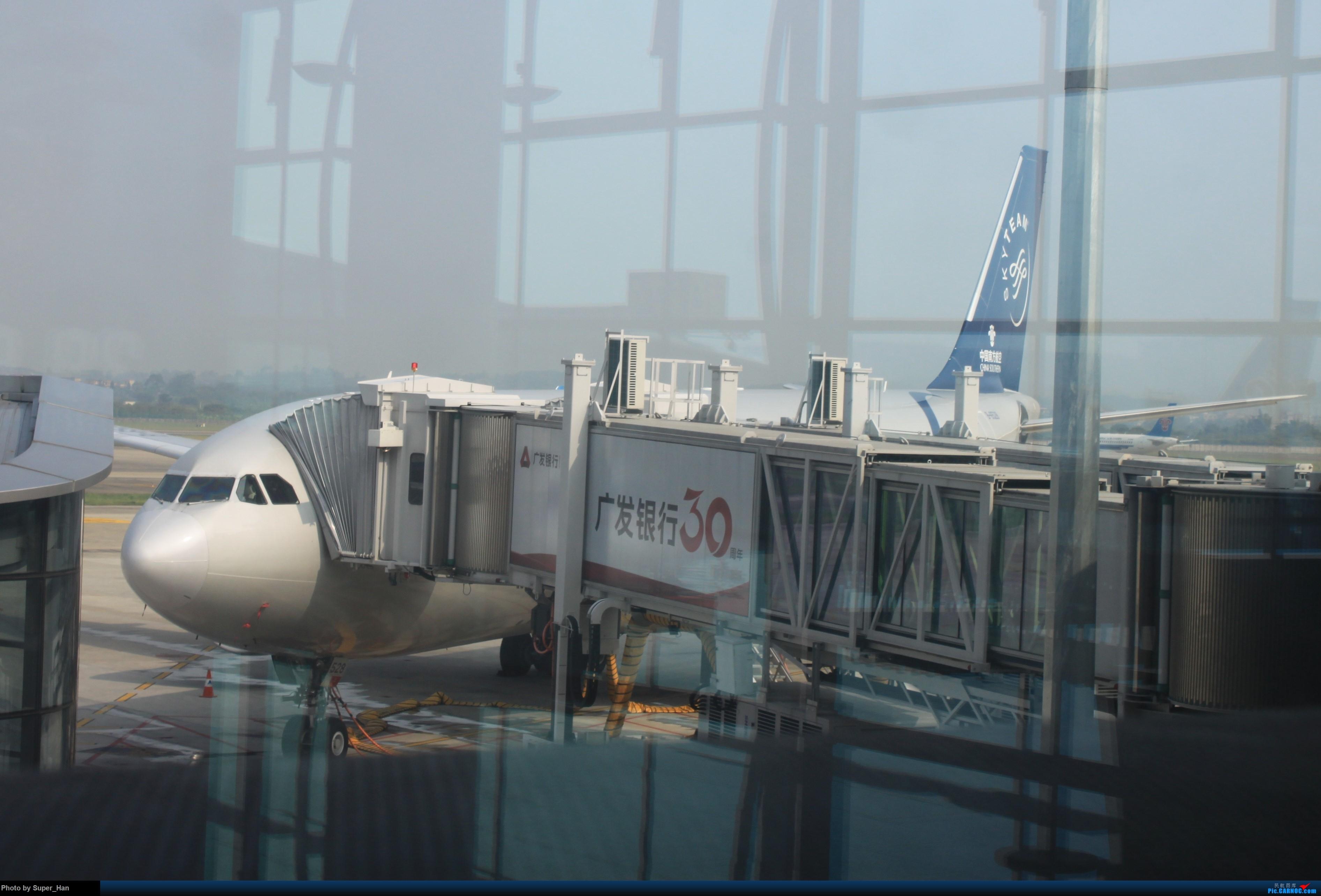Re:[原创]HGH-SZX CAN-SHA AIRBUS A330-200 B-6528 中国广州白云国际机场