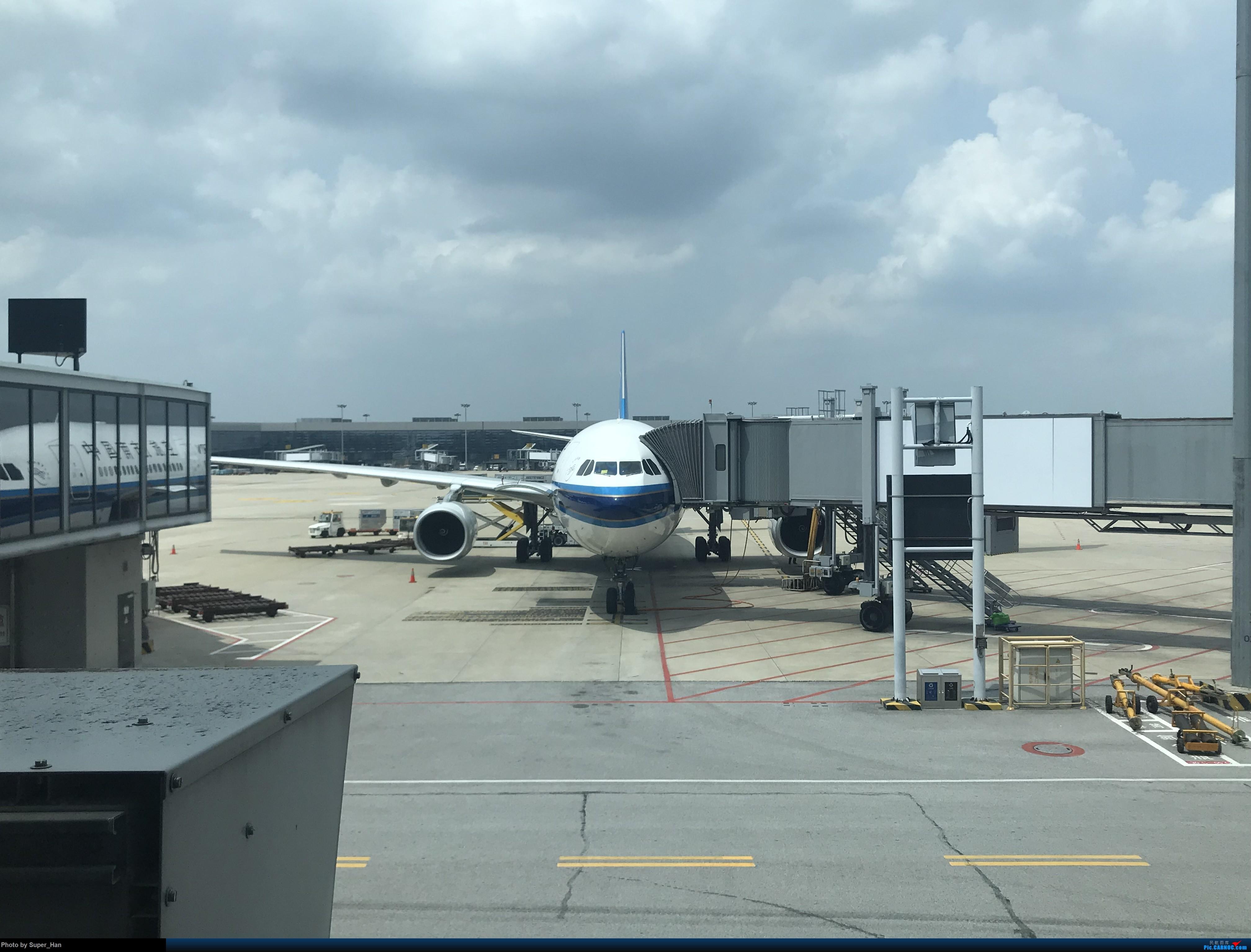 Re:[原创]HGH-SZX CAN-SHA AIRBUS A330-300 B-8361 中国上海虹桥国际机场