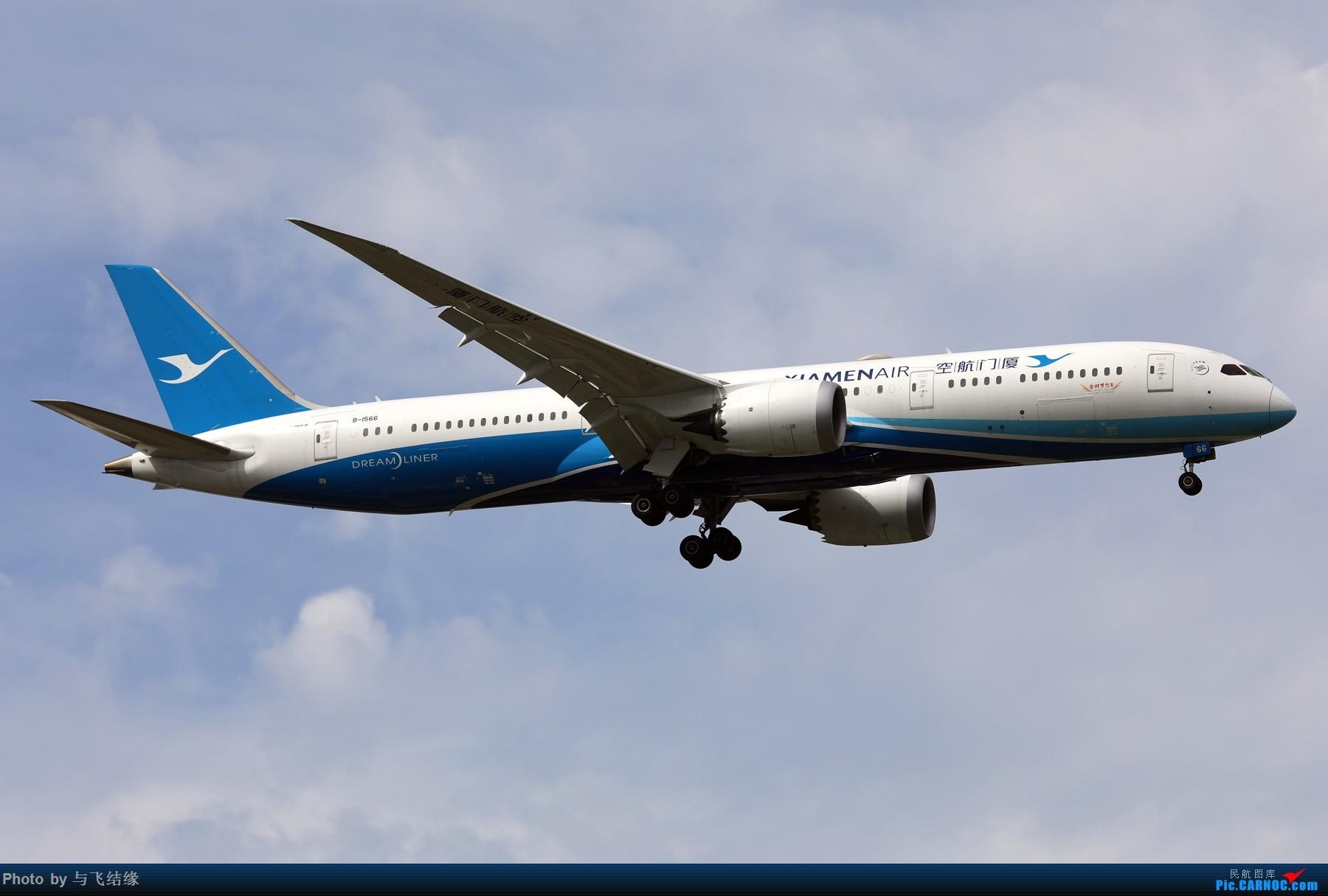 Re:[原创]今日立秋!随便发几张图。 BOEING 787-9 B-1566 中国北京首都国际机场