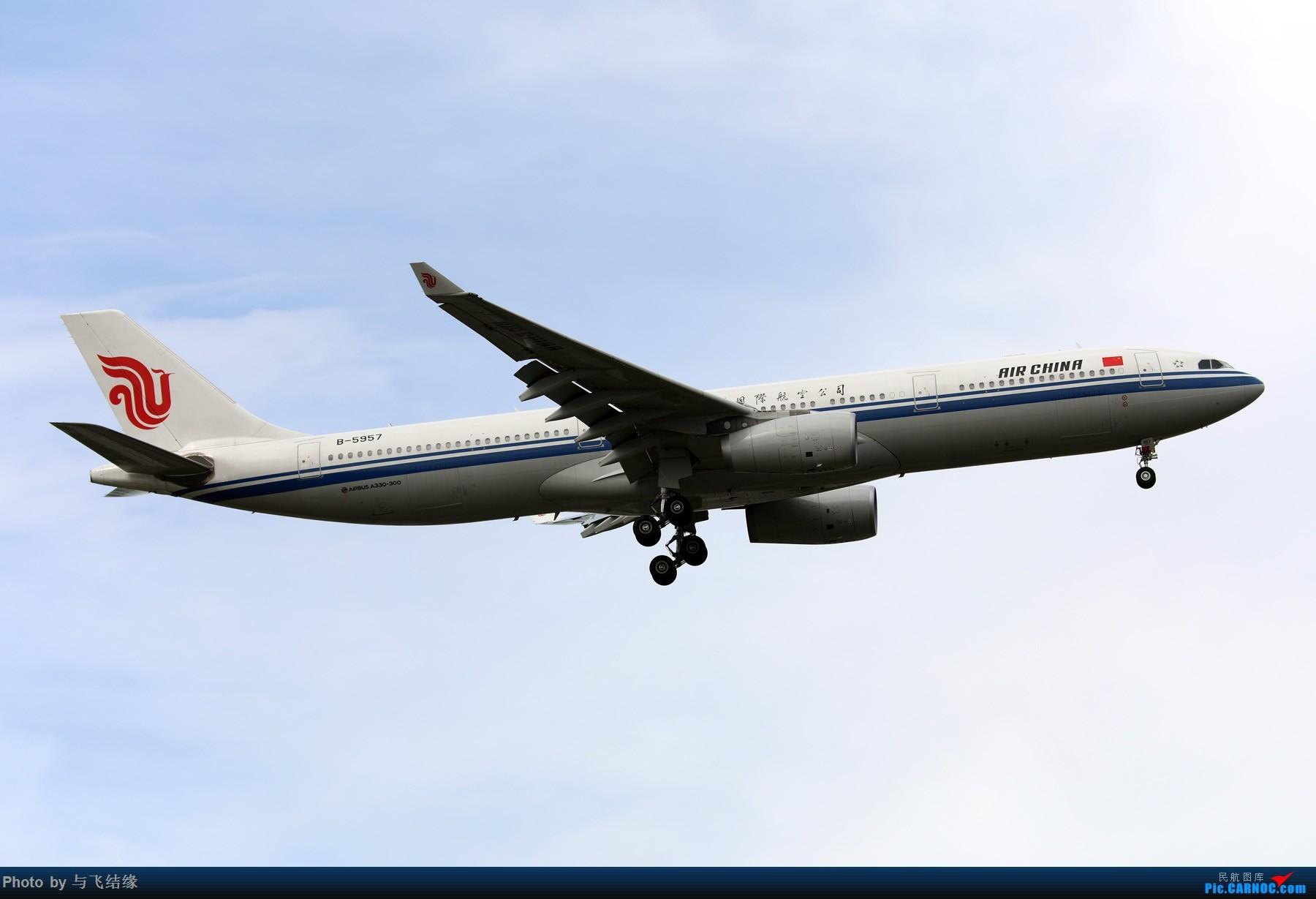 Re:[原创]今日立秋!随便发几张图。 AIRBUS A330-300 B-5957 中国北京首都国际机场