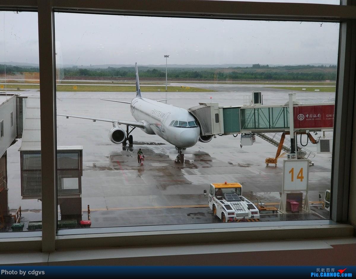 Re:[原创]成都航空初体验,INC-LJG-JHG 很愉快的一次飞行 AIRBUS A321-200 B-1837 中国银川河东国际机场