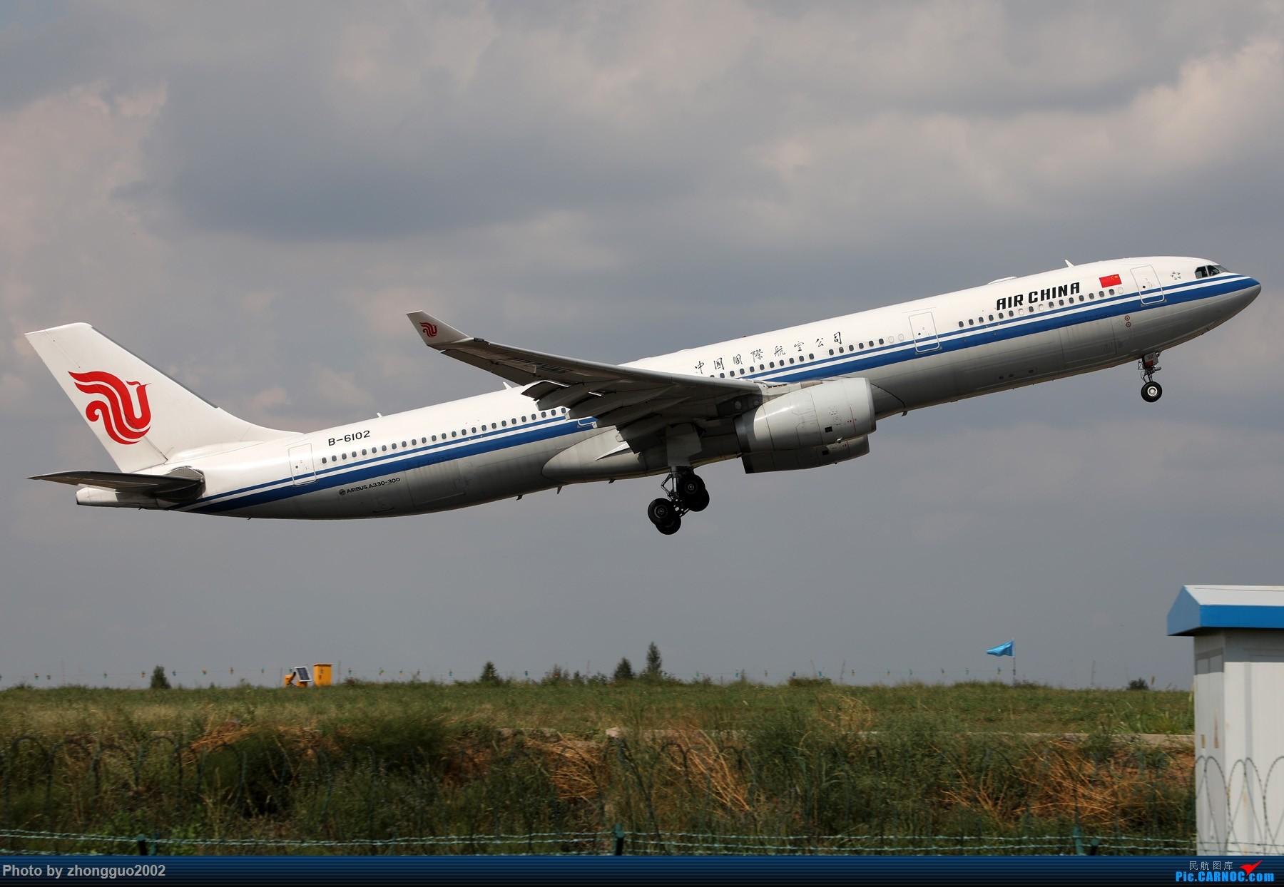 Re:[原创]国航 333-6102 鄂尔多斯飞本场 AIRBUS A330-300 B-6102 中国鄂尔多斯伊金霍洛机场