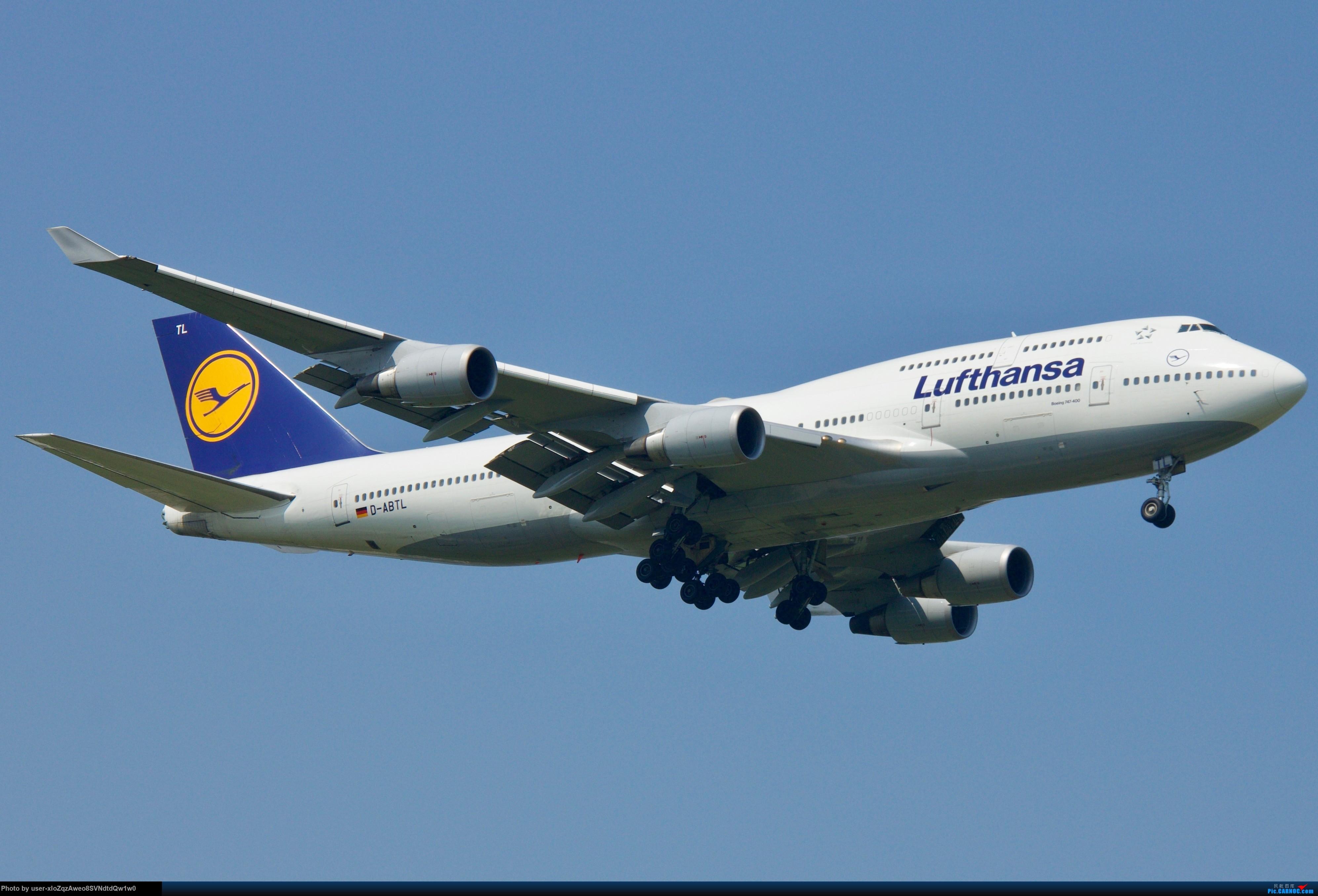 Re:[原创]07/28 PVG拍机贴 BOEING 747-400 D-ABTL 中国上海浦东国际机场
