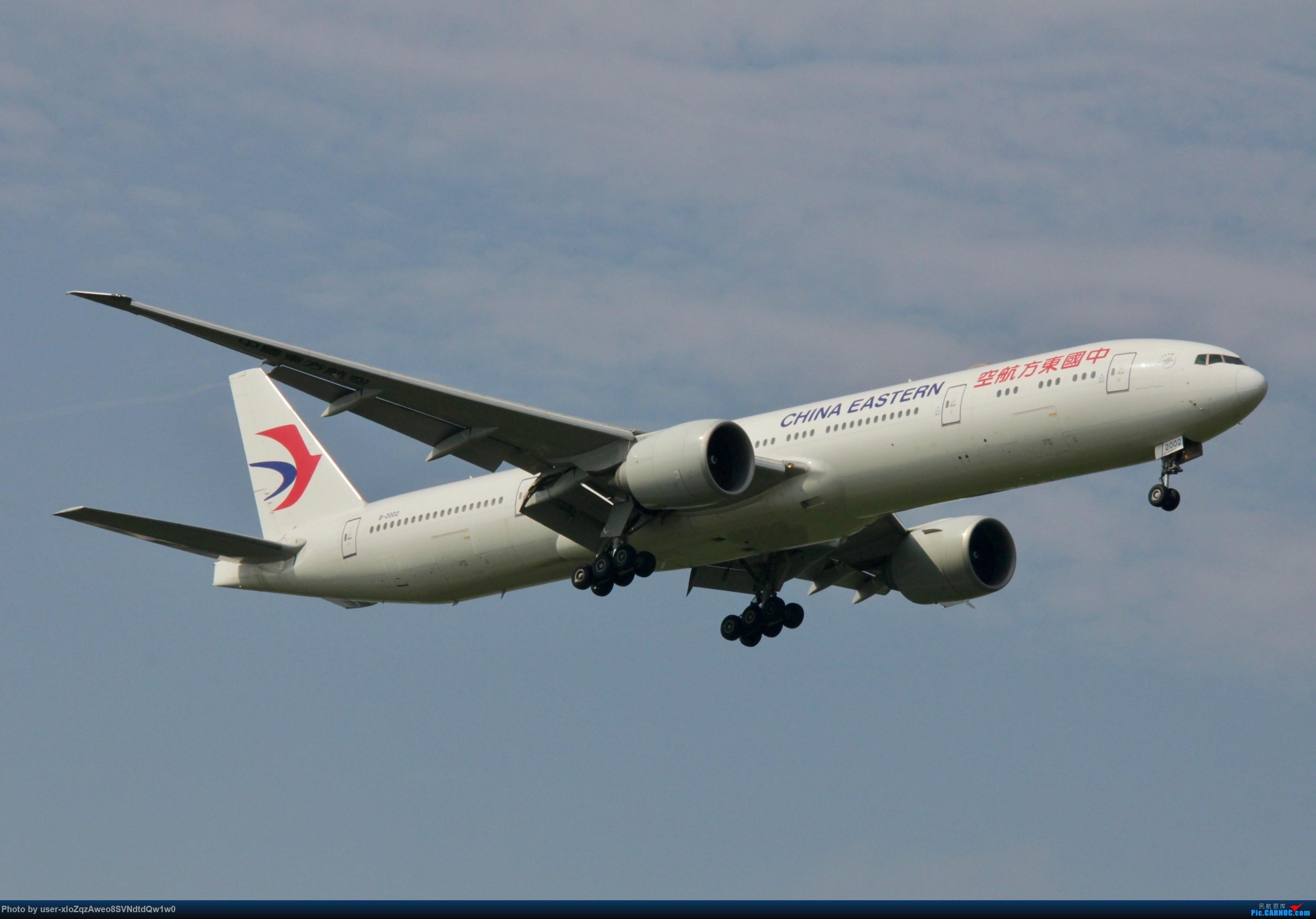 Re:[原创]07/28 PVG拍机贴 BOEING 777-300ER B-2002 中国上海浦东国际机场