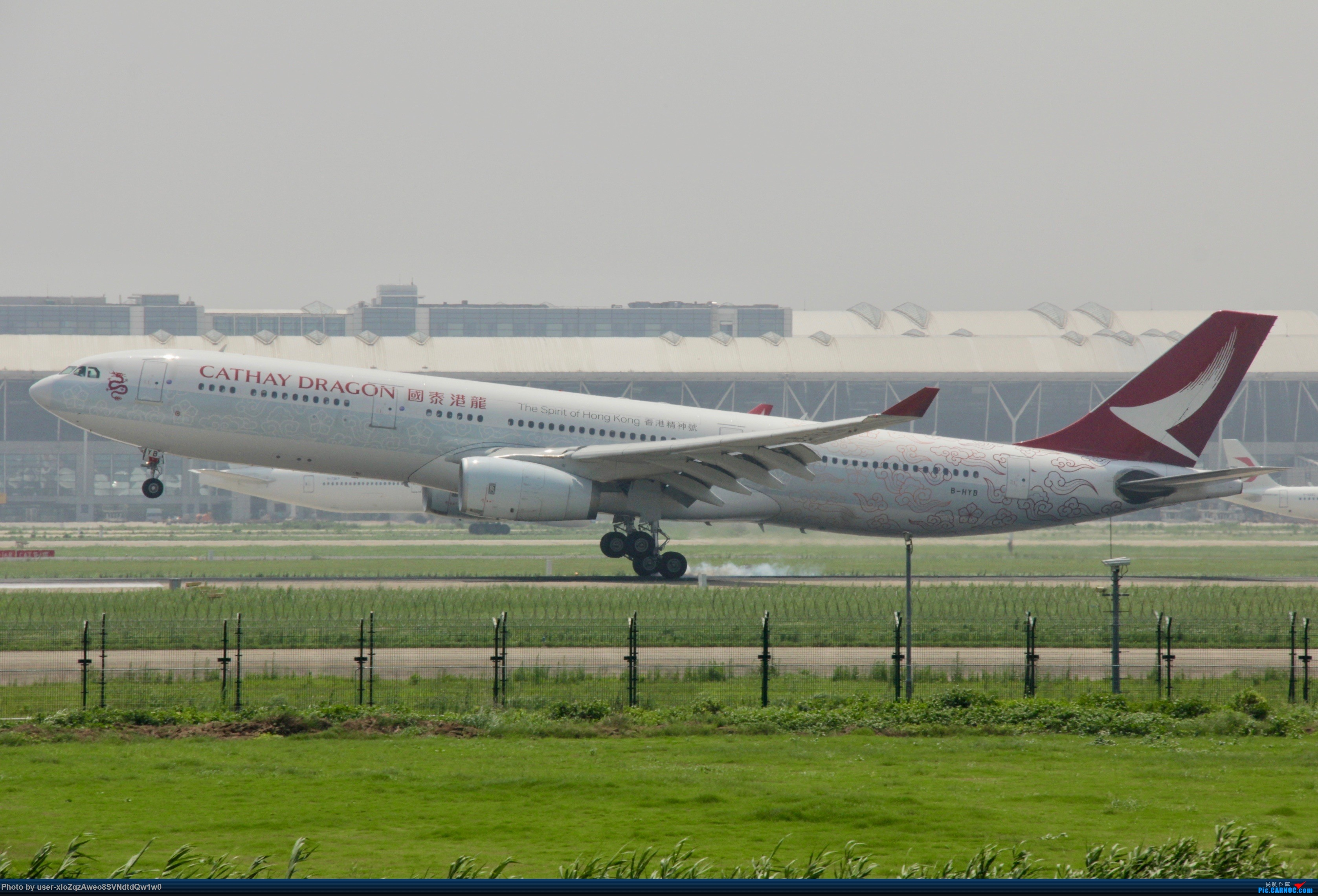Re:[原创]07/28 PVG拍机贴 AIRBUS A330-300 B-HYB 中国上海浦东国际机场