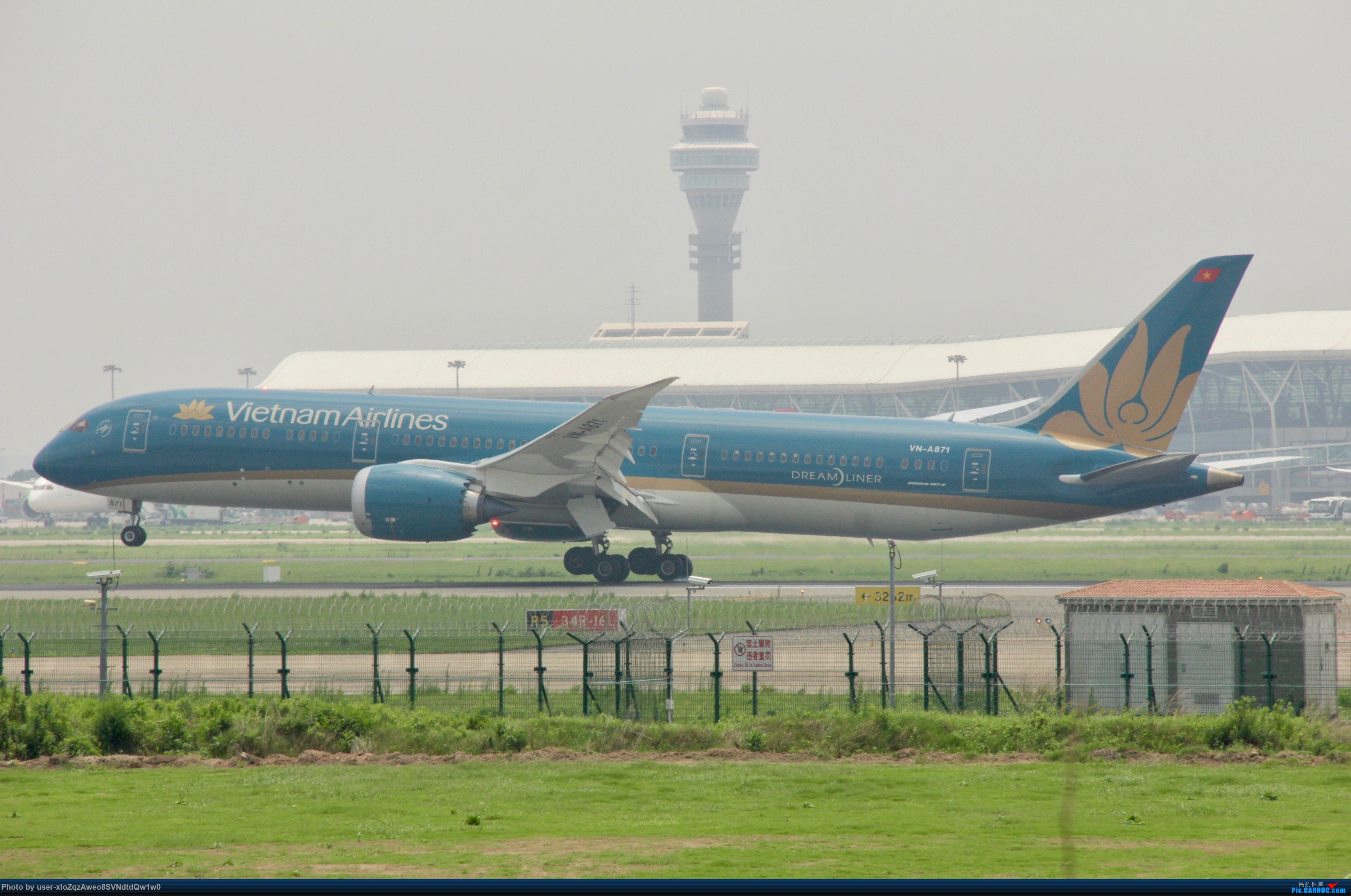 Re:[原创]07/28 PVG拍机贴 BOEING 787-8 VN-A871 中国上海浦东国际机场