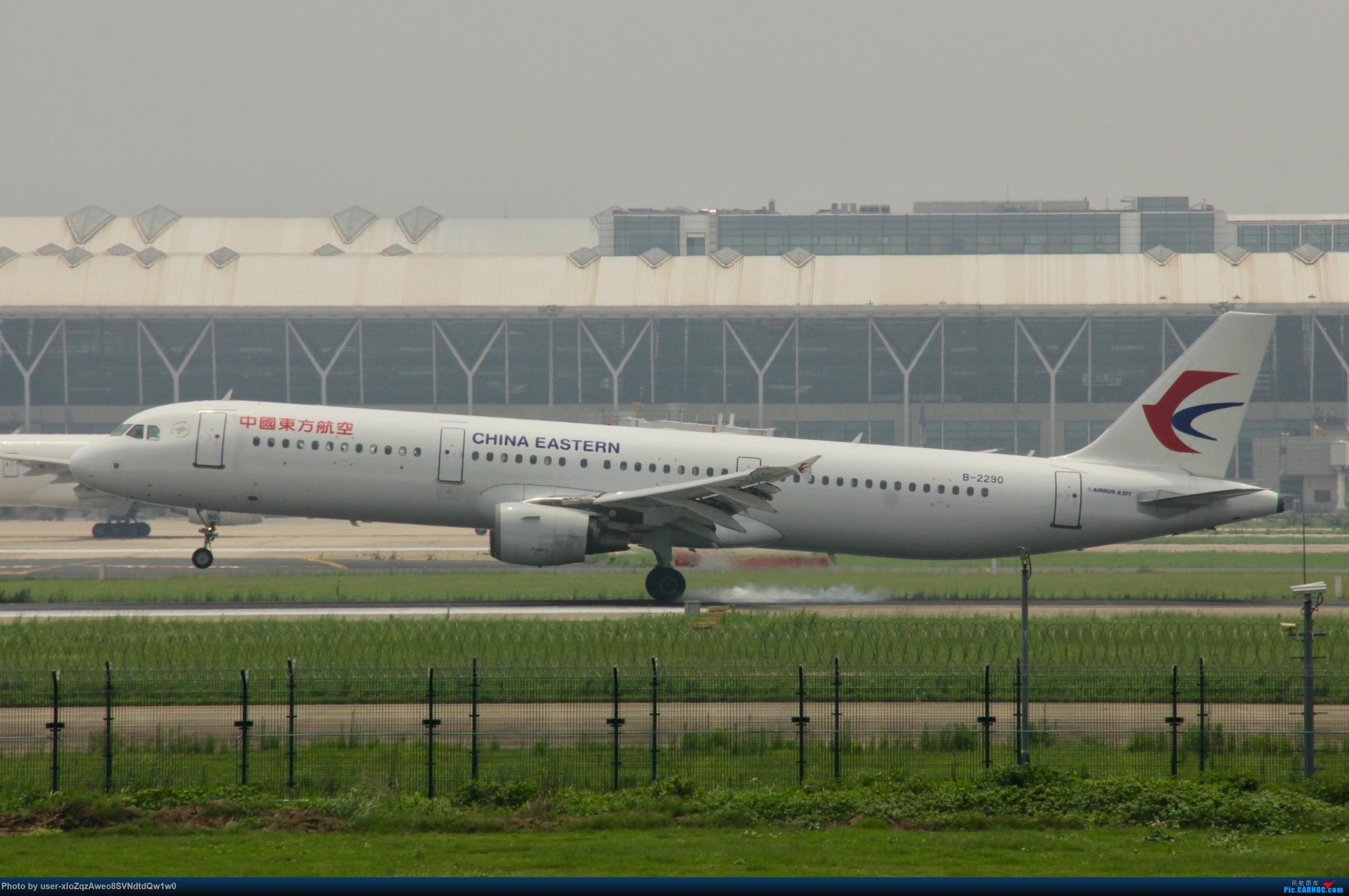Re:[原创]07/28 PVG拍机贴 AIRBUS A321-200 B-2290 中国上海浦东国际机场