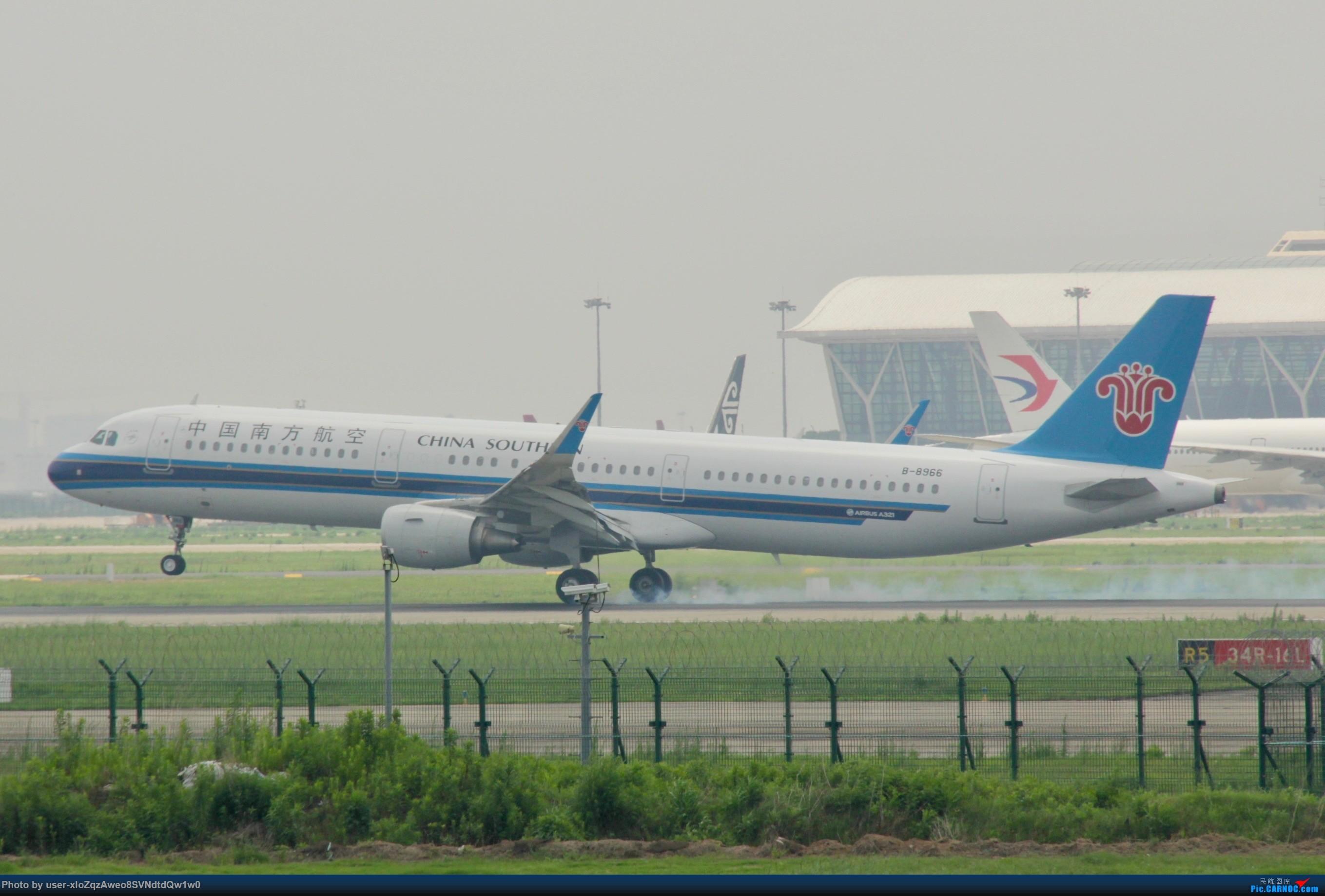 Re:[原创]07/28 PVG拍机贴 AIRBUS A321-200 B-8966 中国上海浦东国际机场