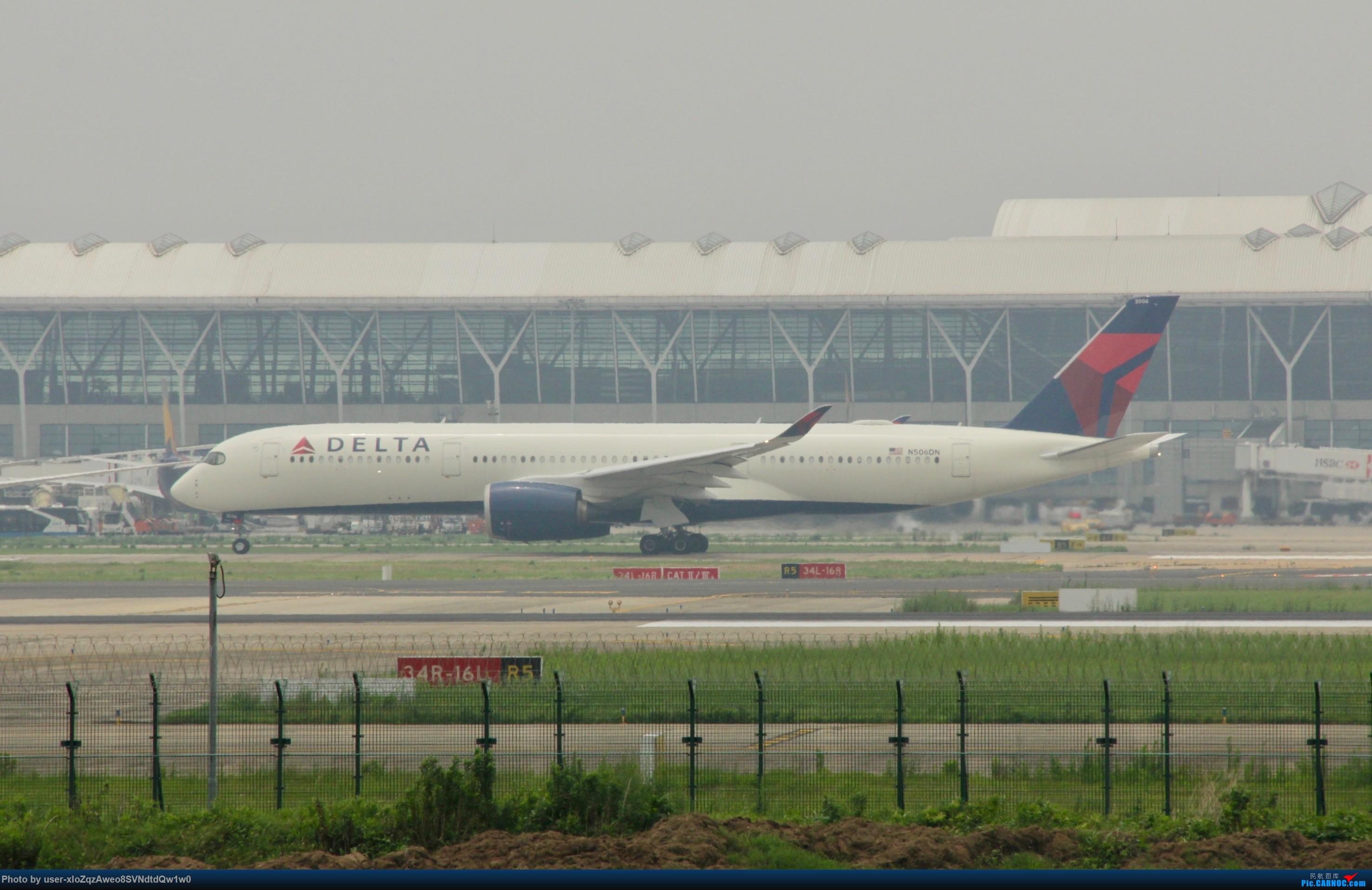 Re:[原创]07/28 PVG拍机贴 AIRBUS A350-900 N506DN 中国上海浦东国际机场