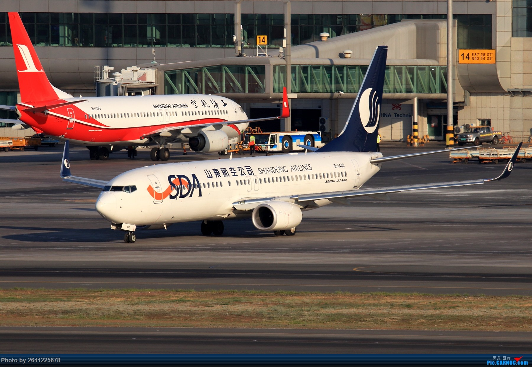 Re:[原创]【小周游记第7集拍机贴】乌鲁木齐绝美的地景和光线 BOEING 737-800 B-1440 中国乌鲁木齐地窝堡国际机场