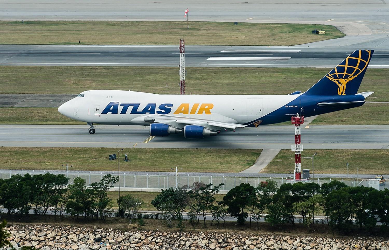 [原创]波音747一组 BOEING 747-400 N497MC 香港