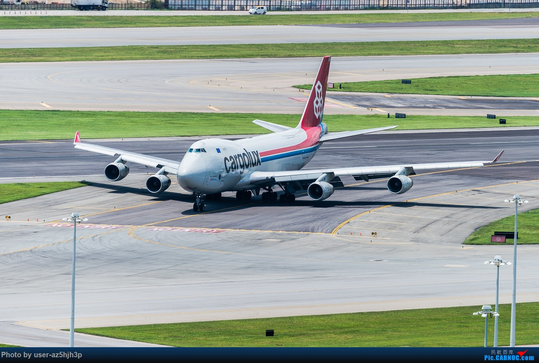 Re:[原创]波音747一组 BOEING 747-400 CX-SCV 香港赤鱲角国际机场