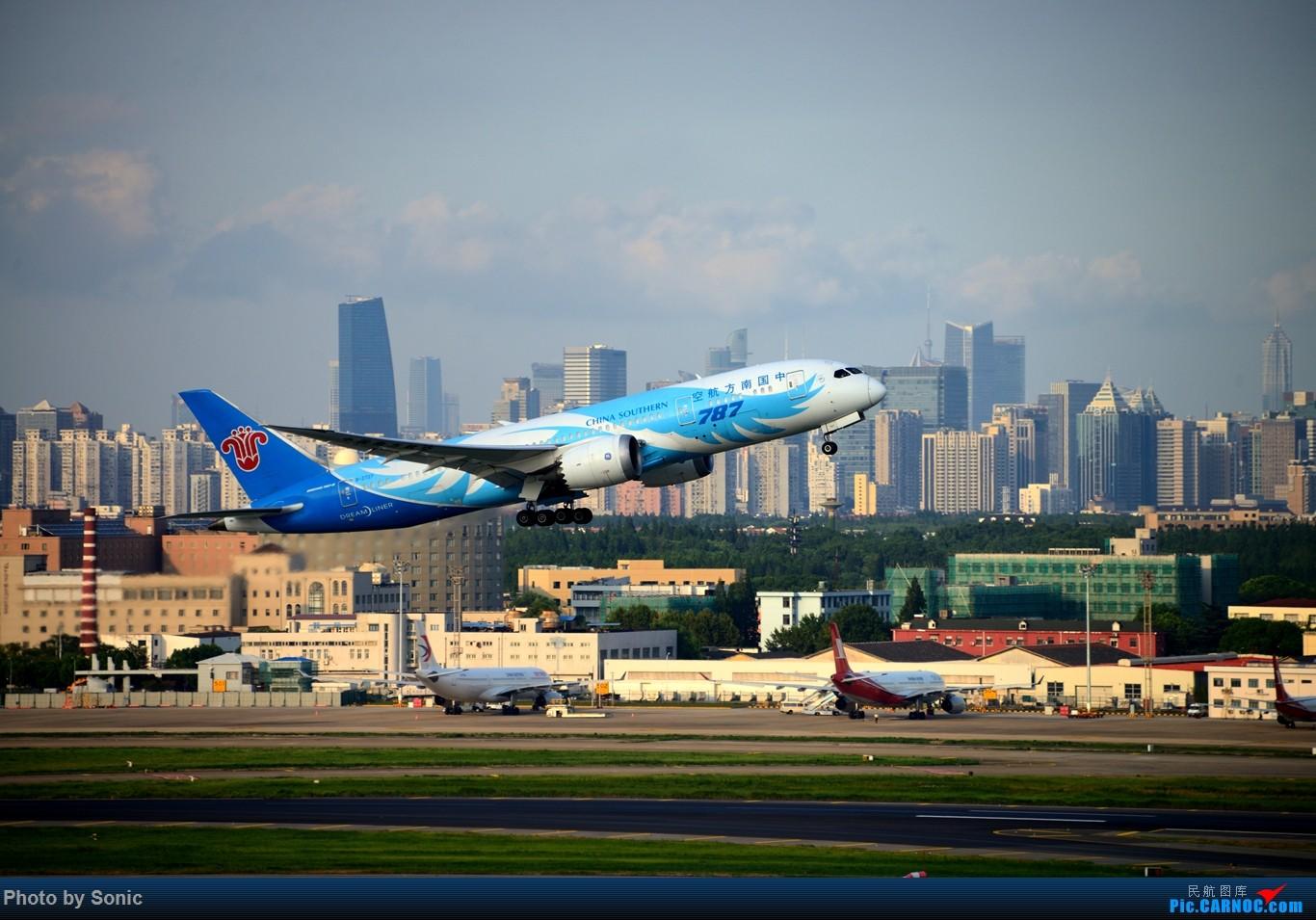 Re:[原创]南航787 虹桥西区 BOEING 787-8 B-2727 中国上海虹桥国际机场