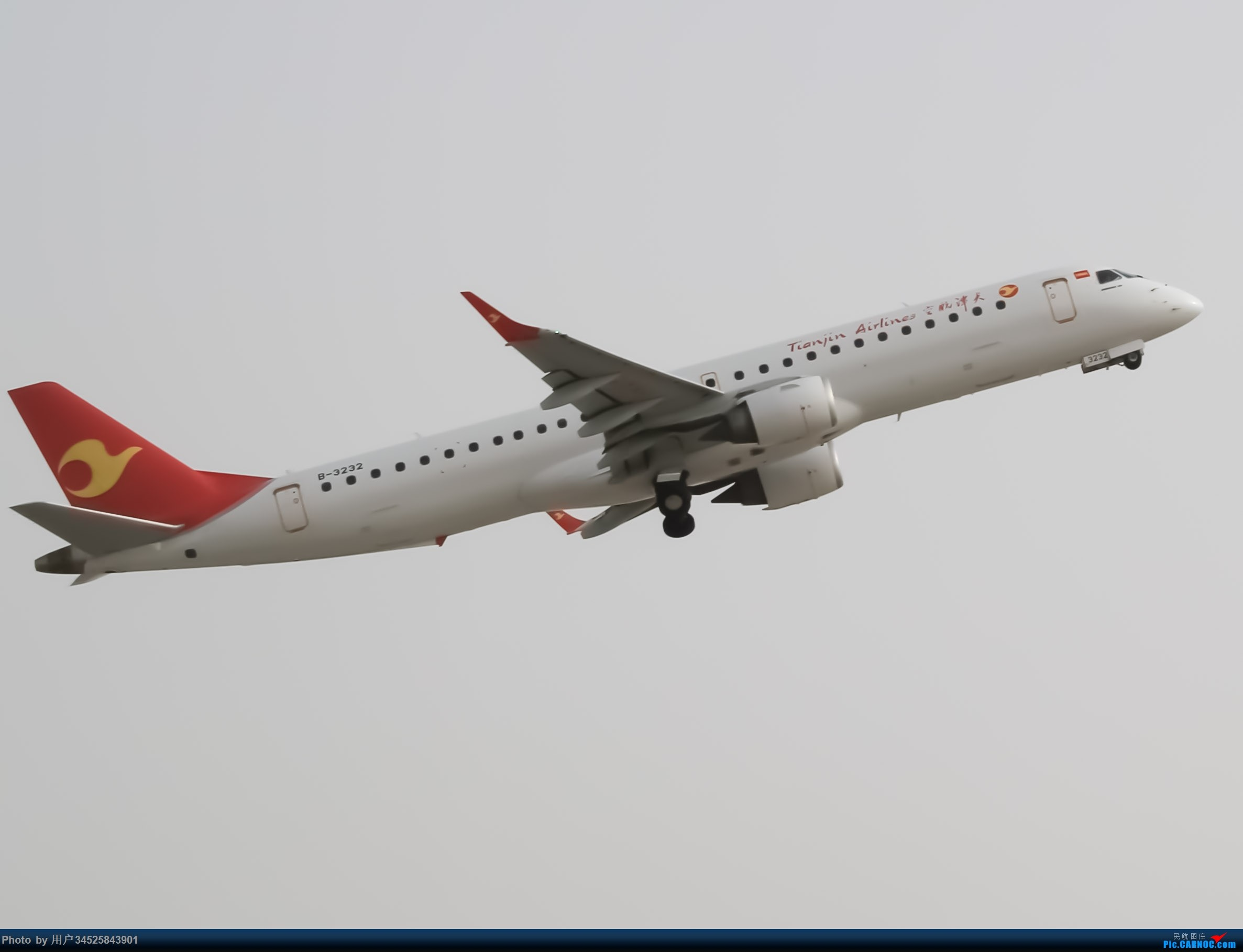 [原创]KCA天津航空拍摄 EMBRAER E-195 B-3232 中国库车龟兹机场