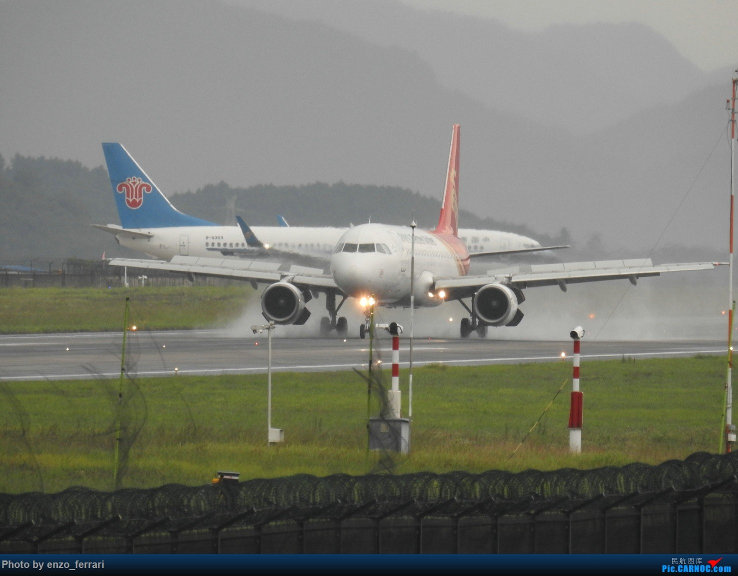 Re:[原创]【KWE】贵阳龙洞堡机场雨天拍飞机 AIRBUS A320-200 B-6567 中国贵阳龙洞堡国际机场