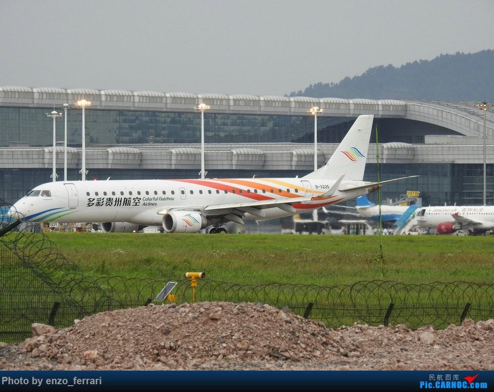 Re:【KWE】贵阳龙洞堡机场雨天拍飞机 EMBRAER E-190 B-3225 中国贵阳龙洞堡国际机场