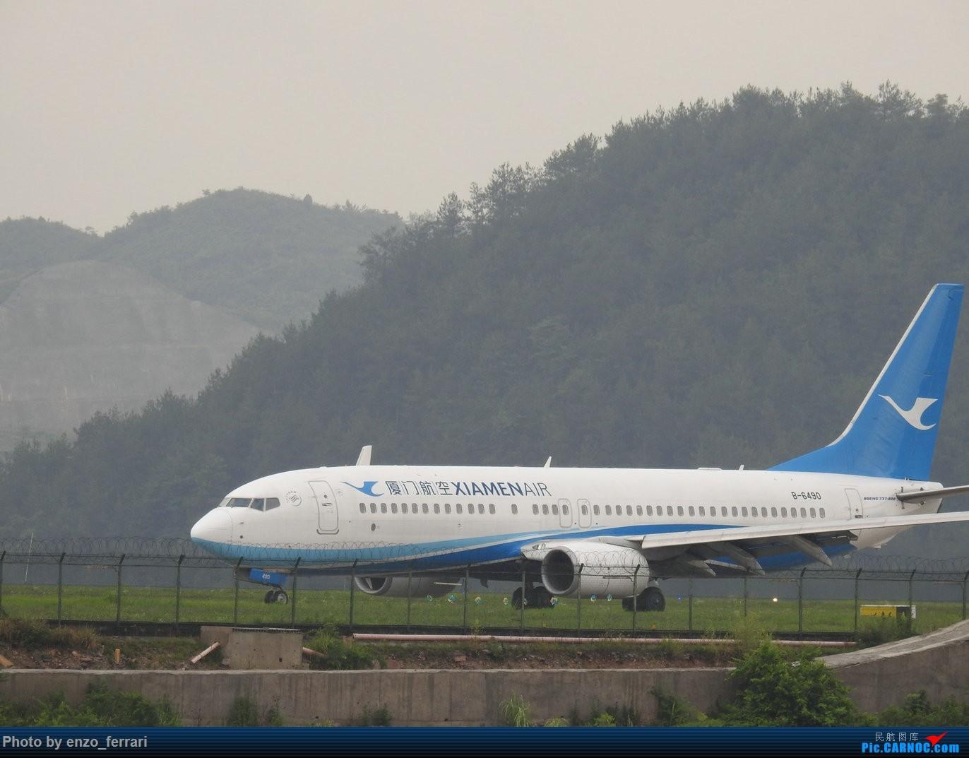 Re:[原创]【KWE】贵阳龙洞堡机场雨天拍飞机 BOEING 737-800 B-6490 中国贵阳龙洞堡国际机场