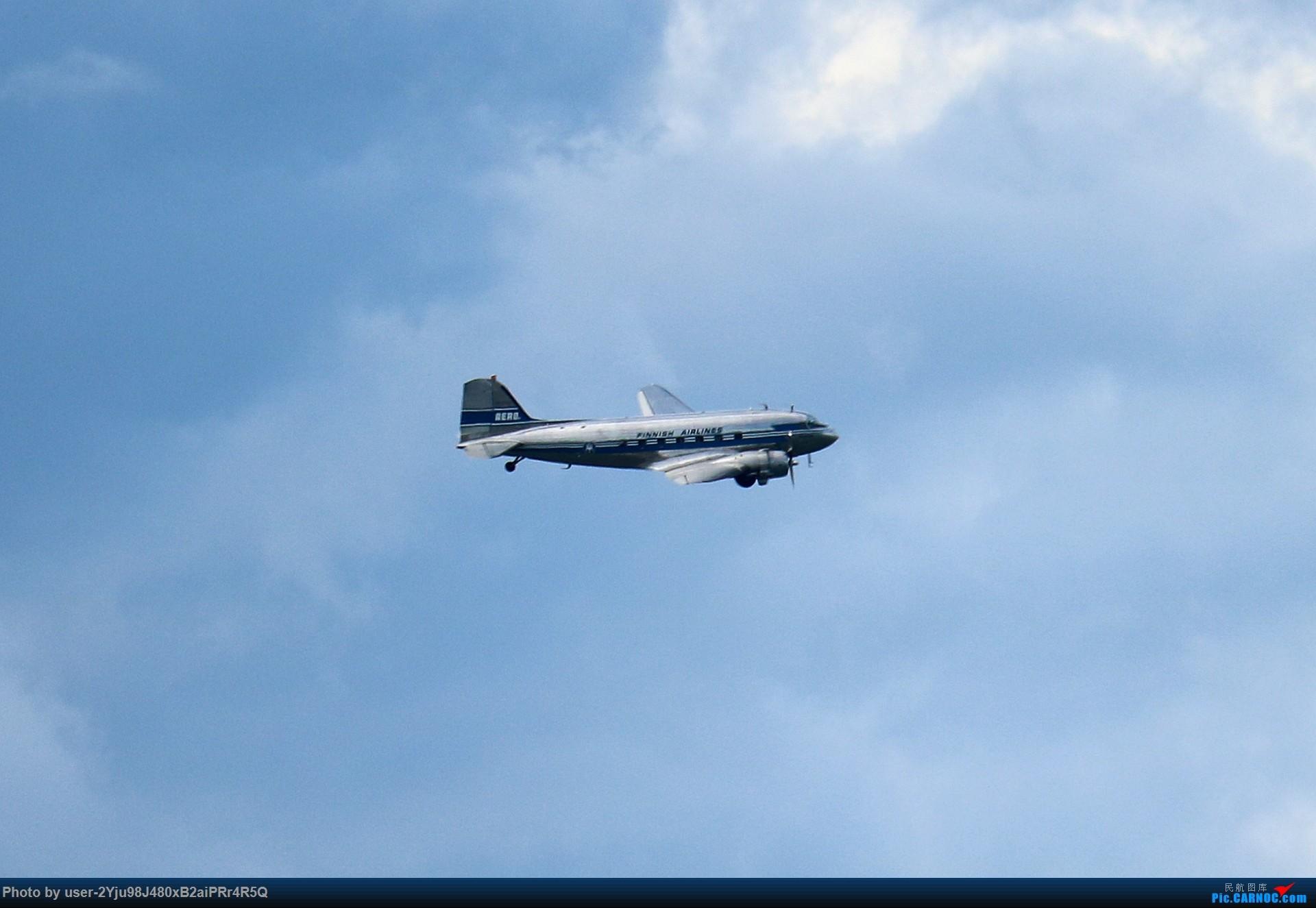 Re:LIULIU瑞典芬兰行Ⅰ|在赫尔辛基上空活着的DC-3 DOUGLAS DC-3 OH-LCH Suomenlinna, Helsinki