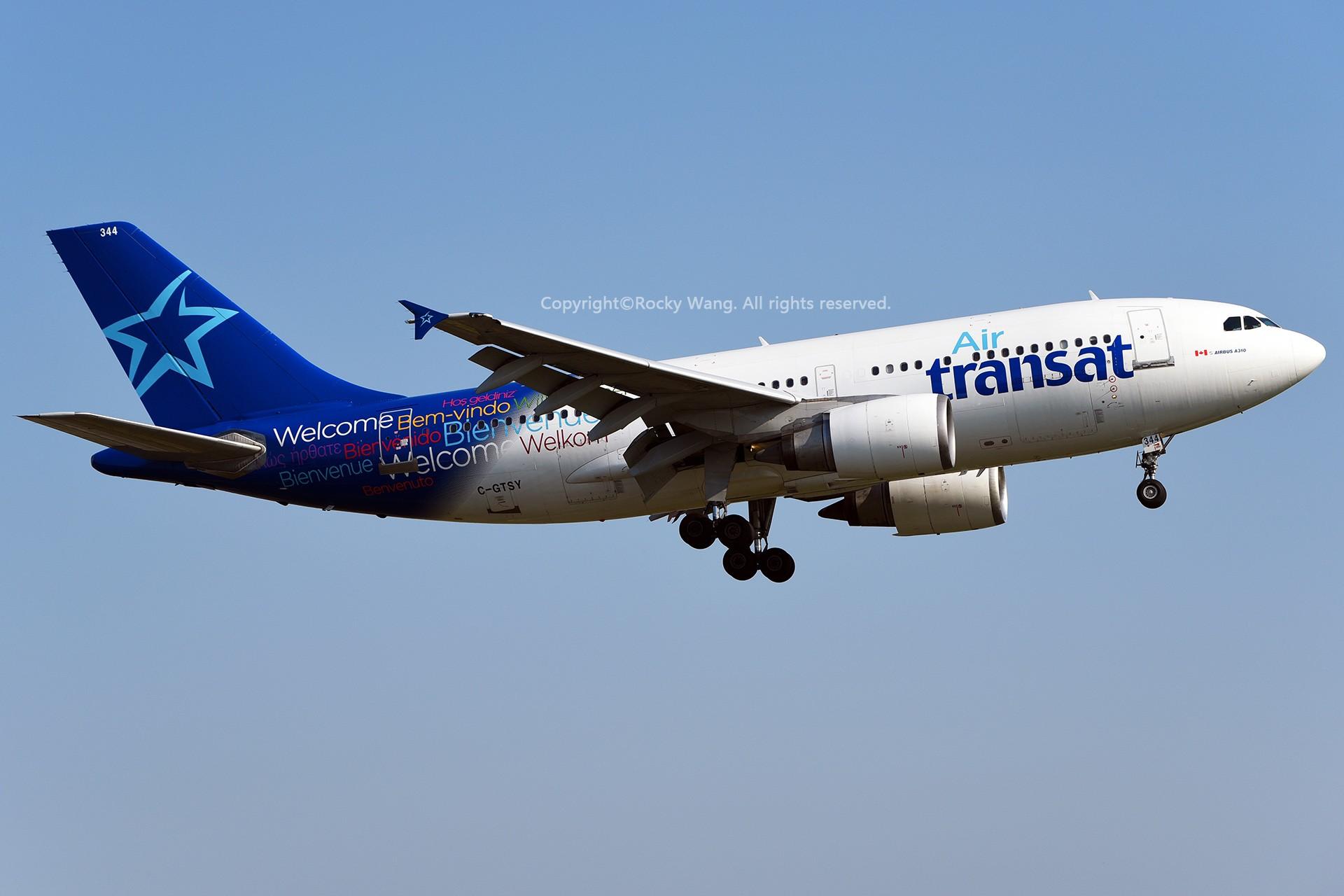 Re:CYUL 30图 AIRBUS A310-304 C-GTSY Montreal Pierre Elliott Trudeau Int'l Ai