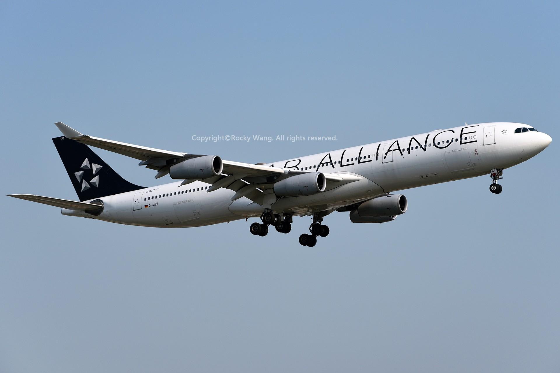 Re:[原创]CYUL 30图 AIRBUS A340-313X D-AIGV Montreal Pierre Elliott Trudeau Int'l Ai