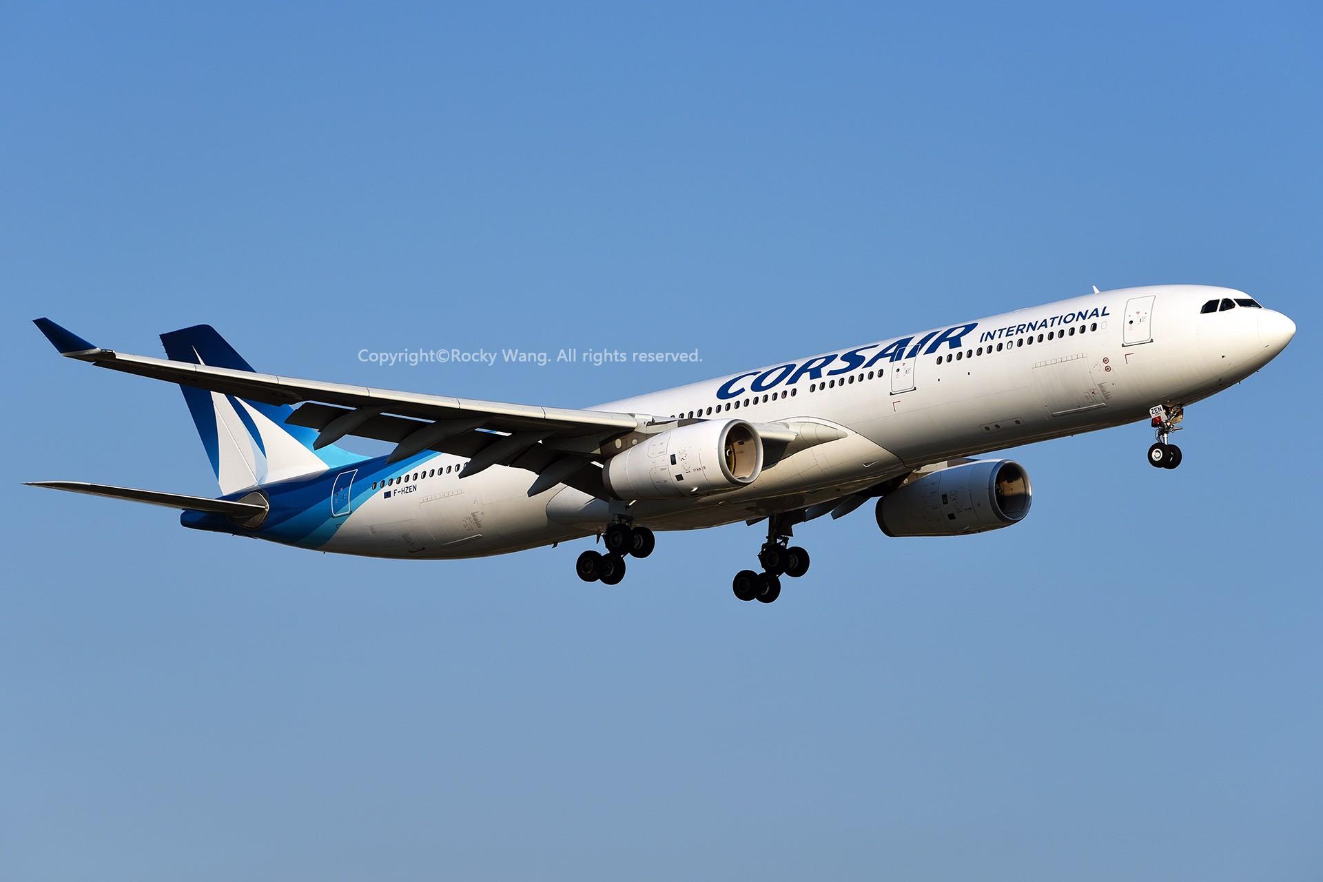 Re:[原创]CYUL 30图 AIRBUS A330-343 F-HZEN Montreal Pierre Elliott Trudeau Int'l Ai