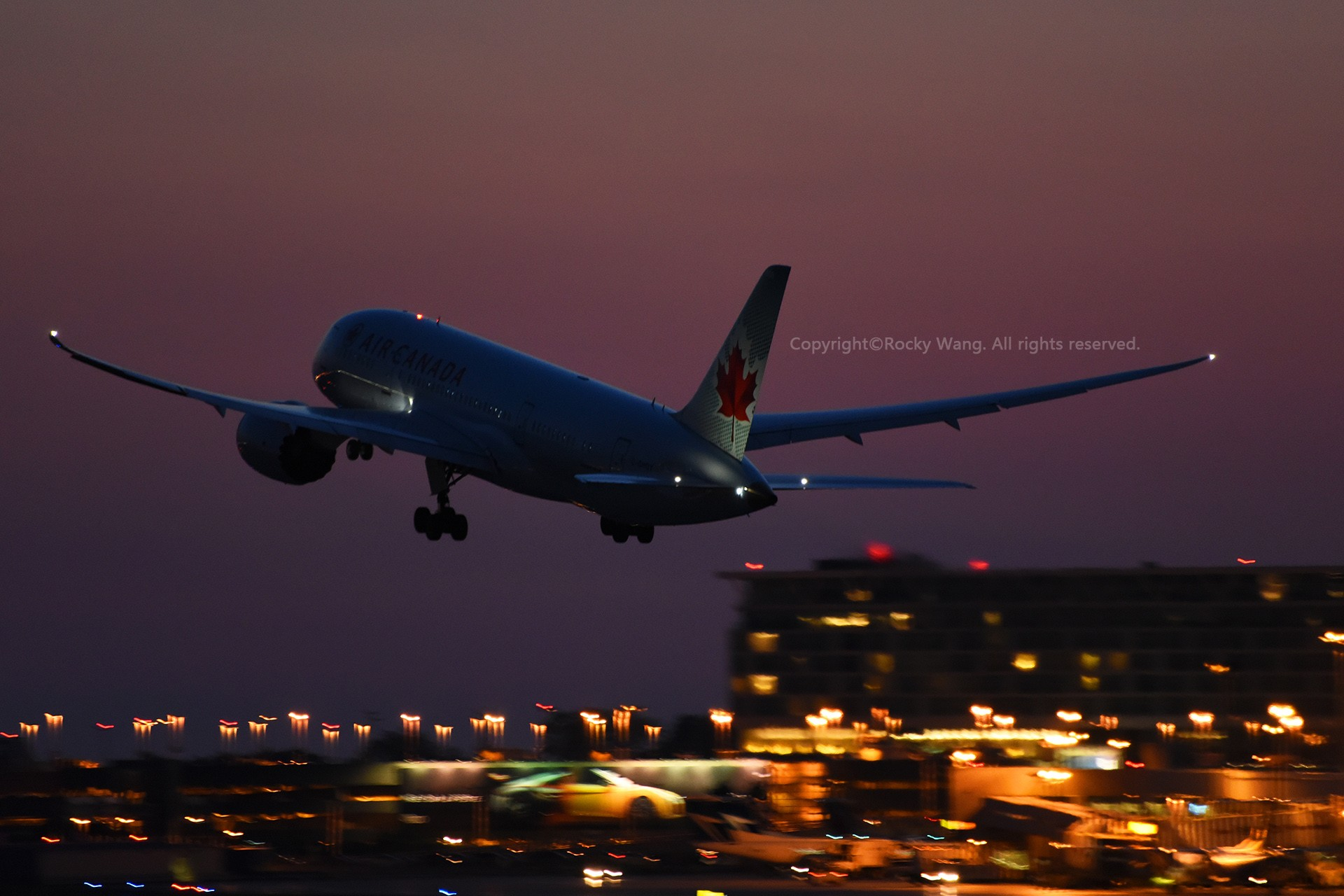 CYUL 30图 BOEING 787-8 DREAMLINER C-GHQY Montreal Pierre Elliott Trudeau Int'l Ai