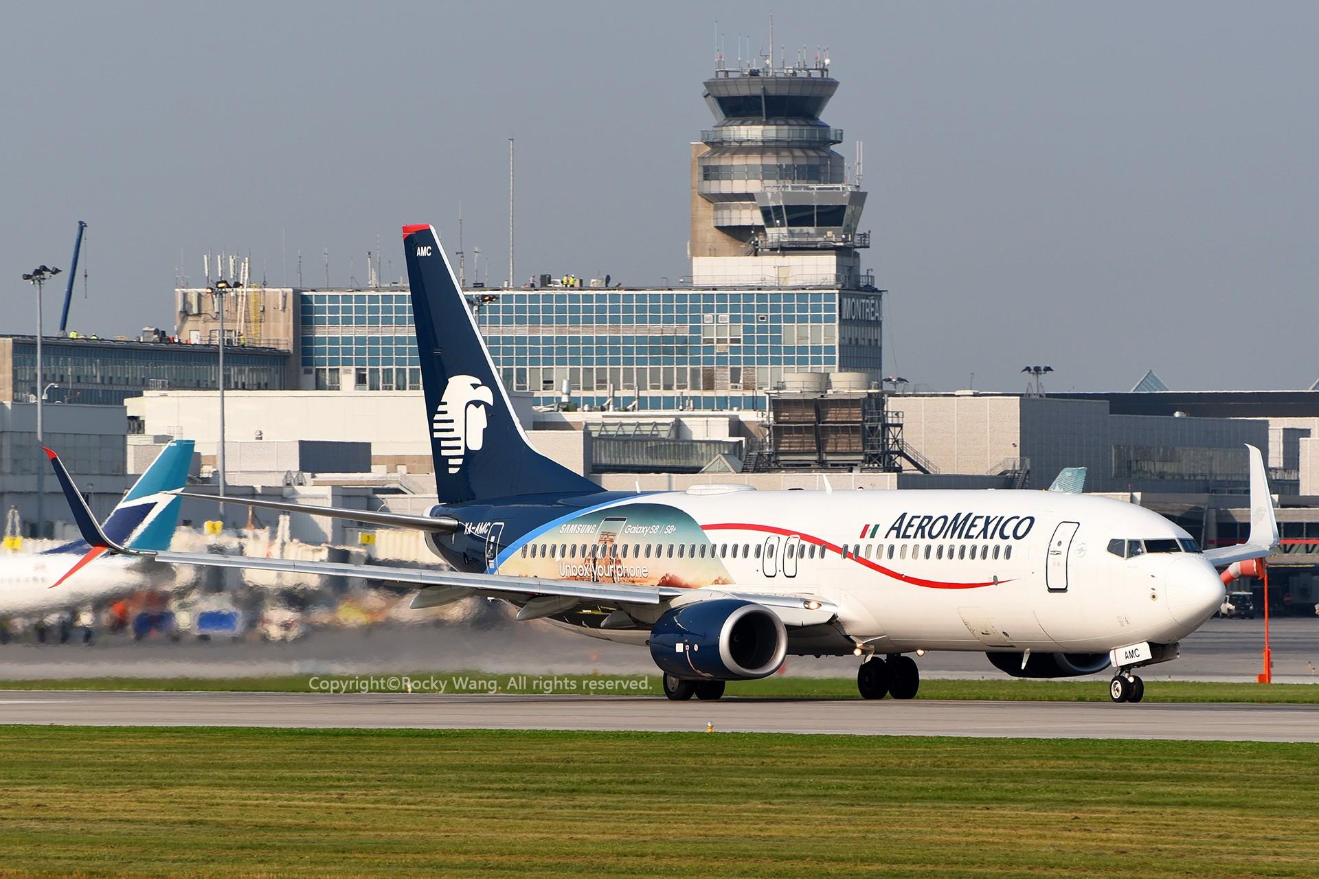 Re:[原创]CYUL 30图 BOEING 737-852 XA-AMC Montreal Pierre Elliott Trudeau Int'l Ai