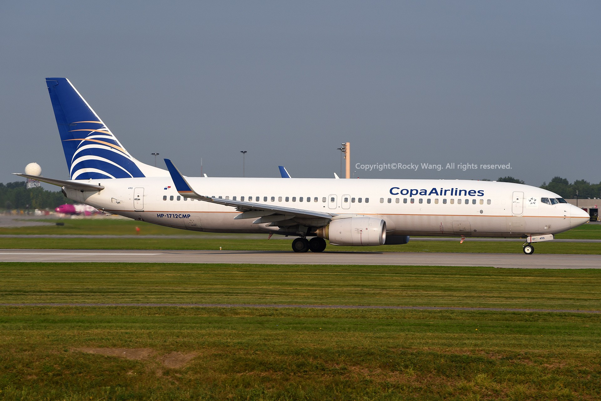 Re:[原创]CYUL 30图 BOEING 737-8V3 HP-1712CMP Montreal Pierre Elliott Trudeau Int'l Ai