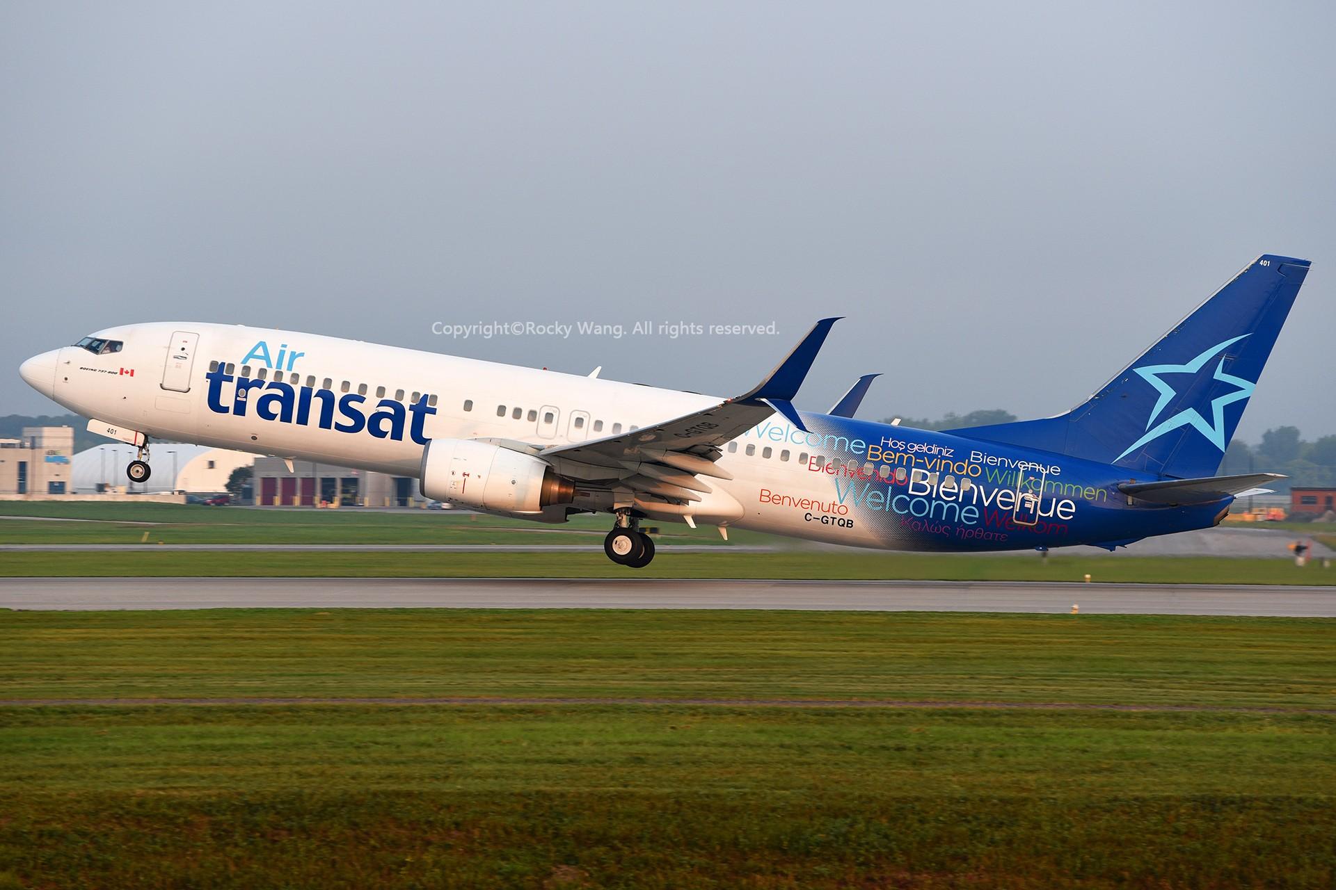 Re:[原创]CYUL 30图 BOEING 737-8Q8 C-GTQB Montreal Pierre Elliott Trudeau Int'l Ai