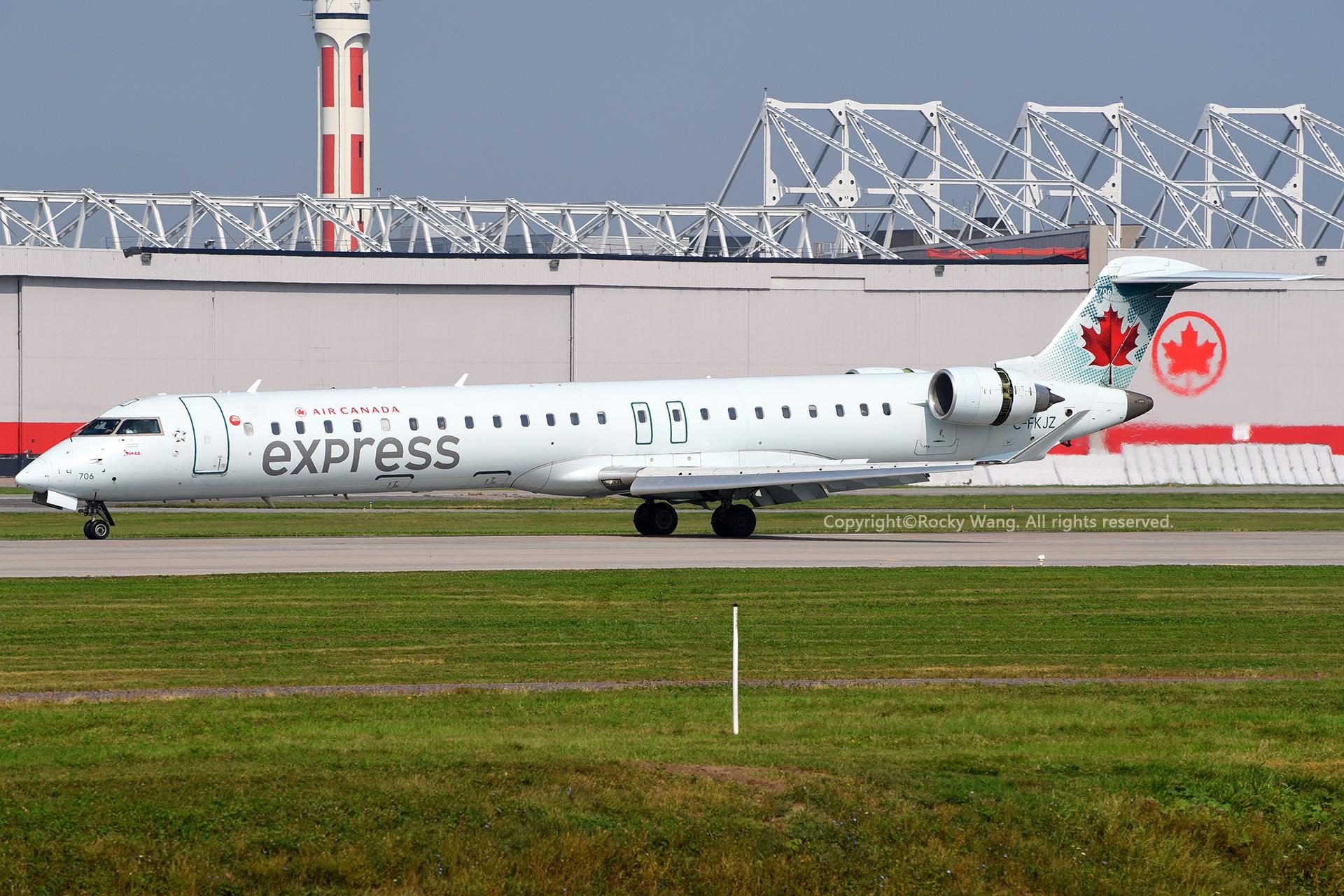 Re:[原创]CYUL 30图 BOMBARDIER CRJ-705LR C-FKJZ Montreal Pierre Elliott Trudeau Int'l Ai