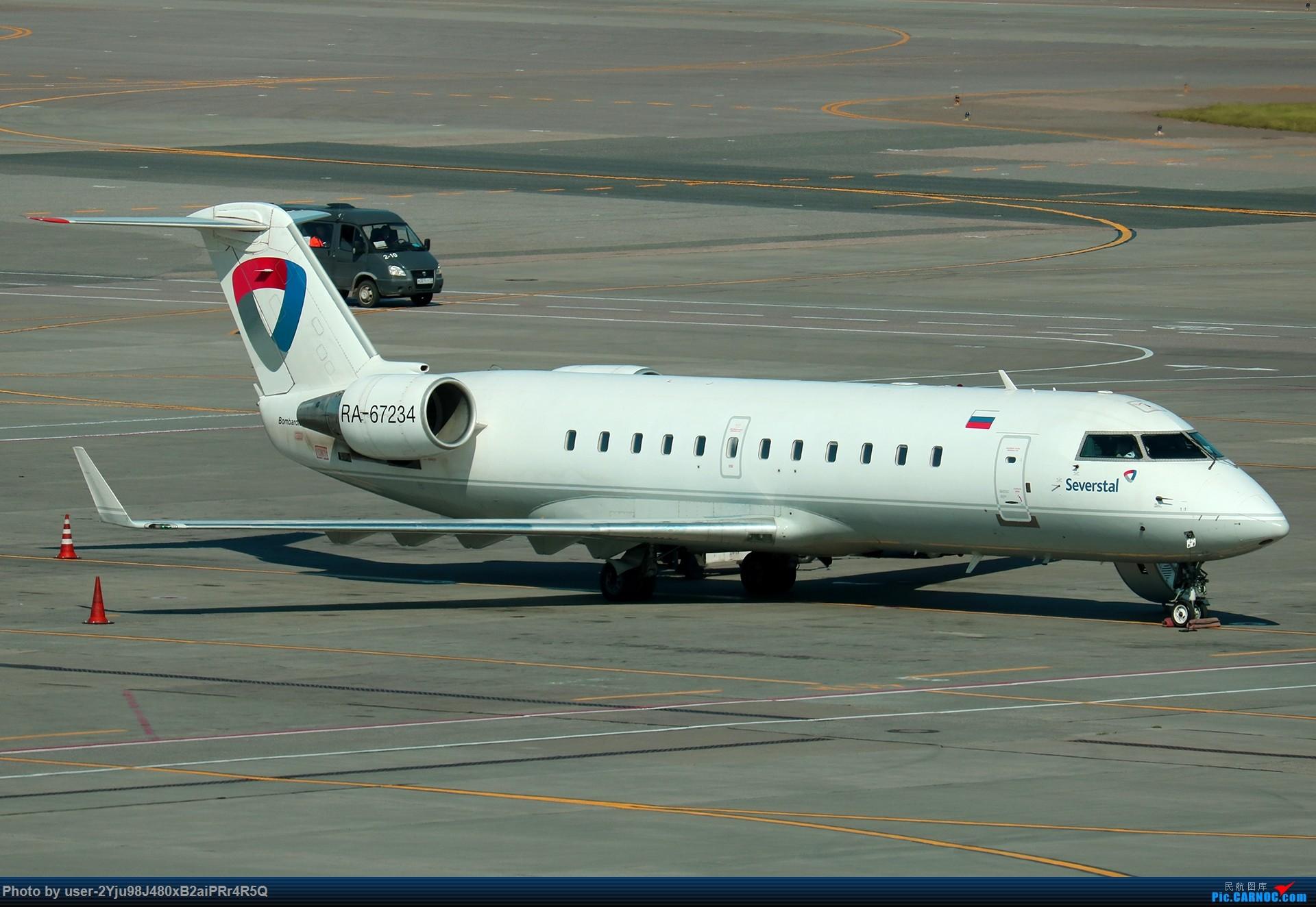 Re:[原创]LIULIU|Sheremetyevo的漫游|其他篇 BOMBARDIER CRJ-200ER RA-67234 俄罗斯谢诺梅杰沃机场