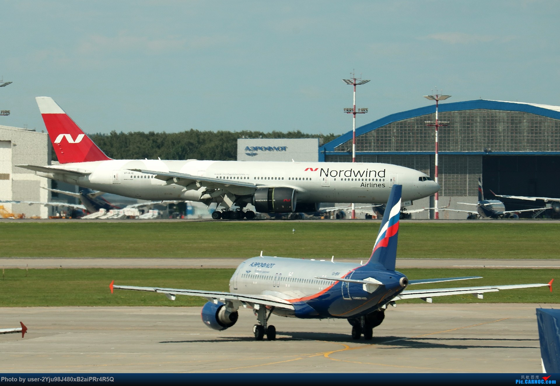 Re:[原创]LIULIU|Sheremetyevo的漫游|其他篇 BOEING 777-2Q8(ER) VP-BJG 俄罗斯谢诺梅杰沃机场
