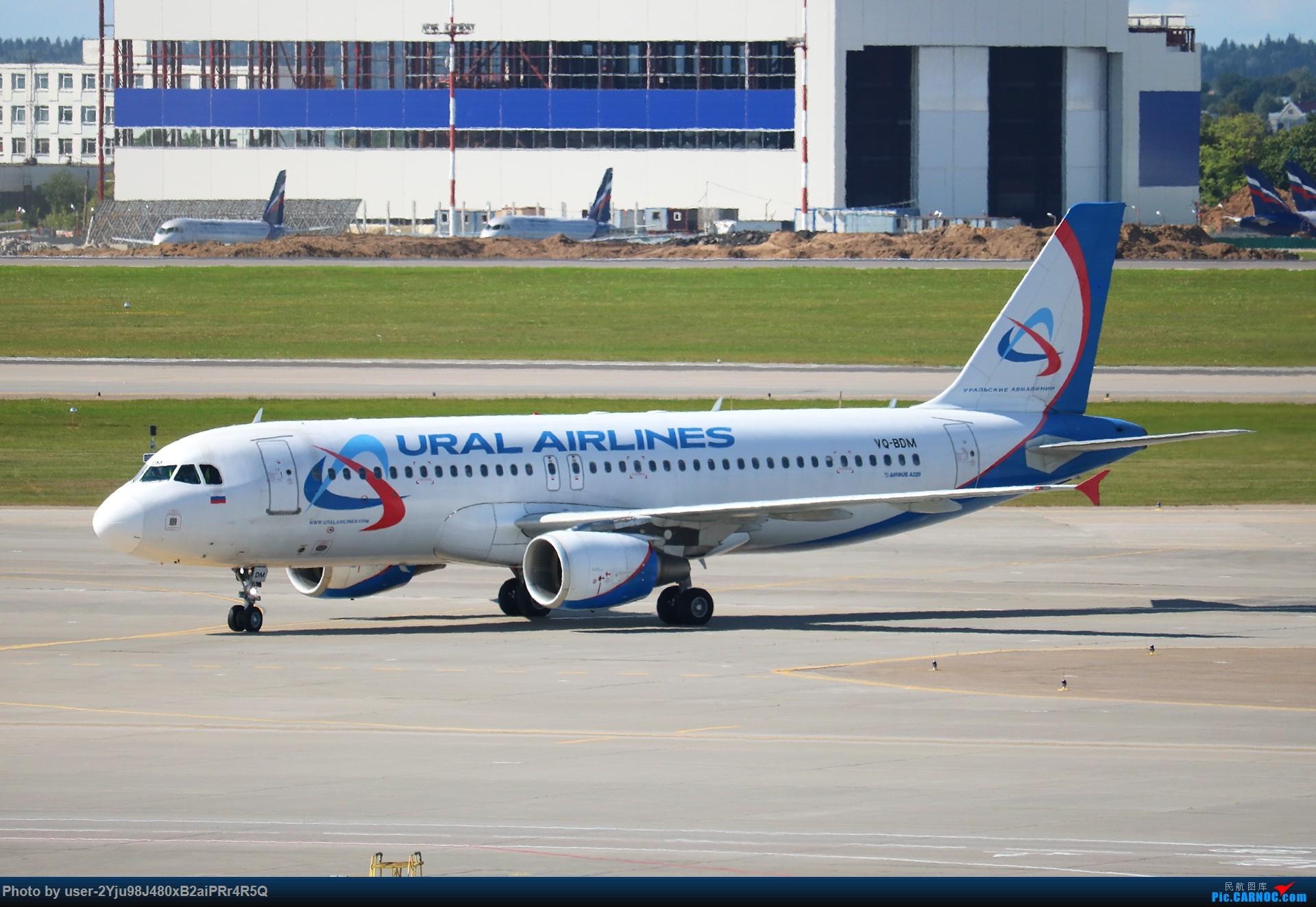 Re:LIULIU|Sheremetyevo的漫游|其他篇 AIRBUS A320-214 VQ-BDM 俄罗斯谢诺梅杰沃机场