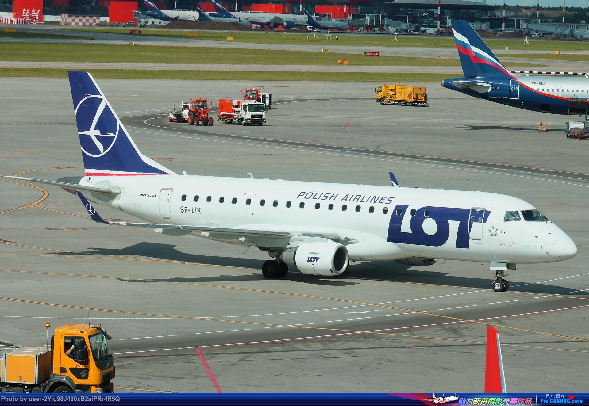 Re:[原创]LIULIU|Sheremetyevo的漫游|其他篇 EMBRAER ERJ-175LR SP-LIK 俄罗斯谢诺梅杰沃机场