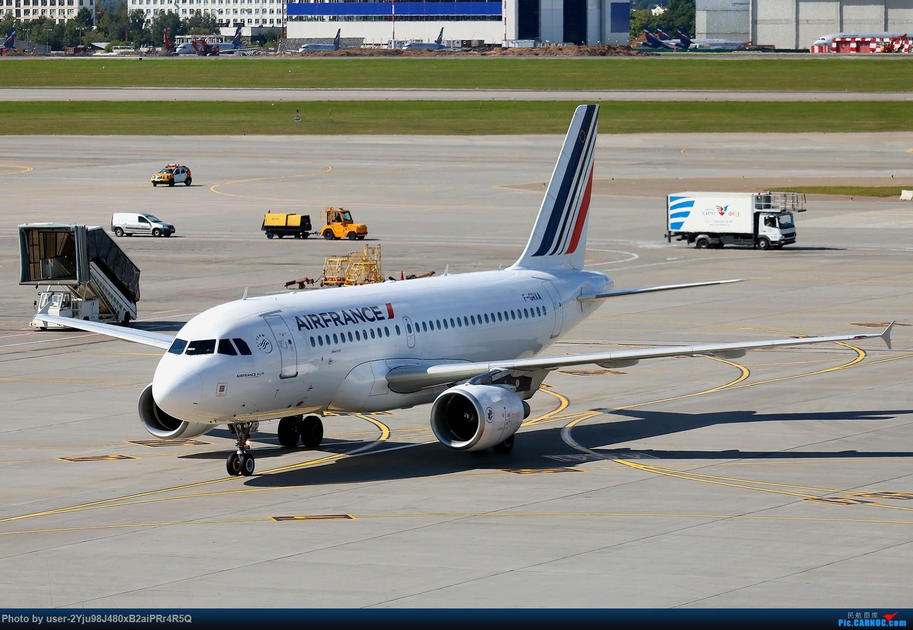 Re:[原创]LIULIU|Sheremetyevo的漫游|其他篇 AIRBUS A319-111 F-GRXA 俄罗斯谢诺梅杰沃机场