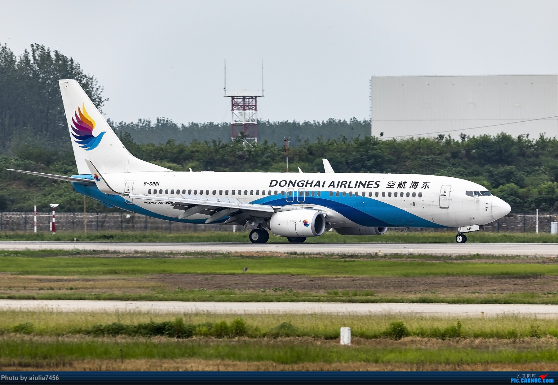 Re:[原创]【霸都打机队】空叔带我去A5 BOEING 737-800 B-6981 中国合肥新桥国际机场