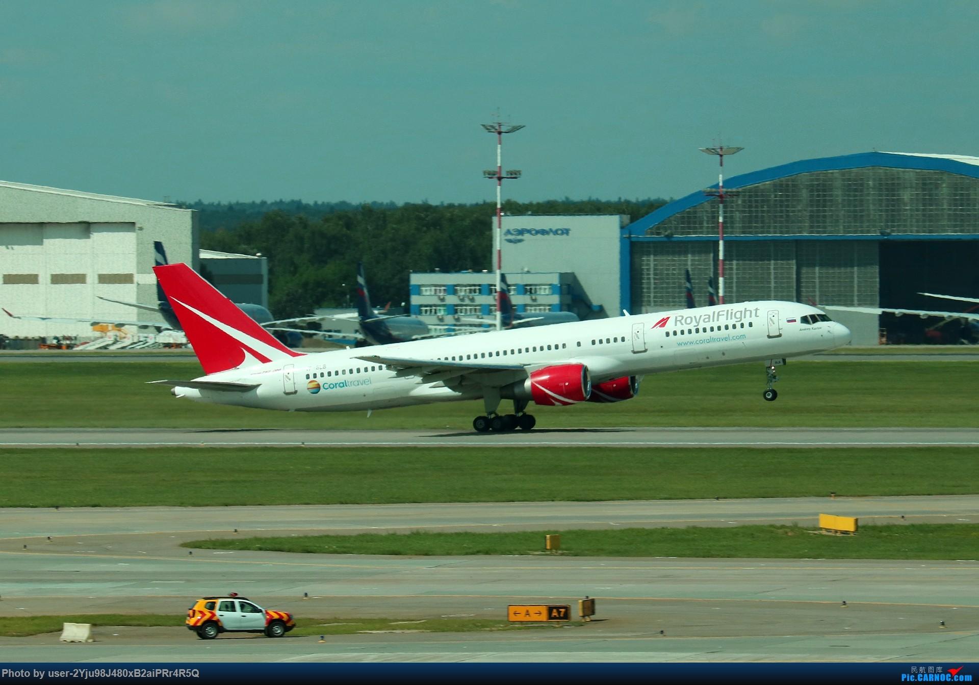 Re:[原创]LIULIU|Sheremetyevo的漫游|其他篇 BOING 757-231 VP-BLB 俄罗斯谢诺梅杰沃机场