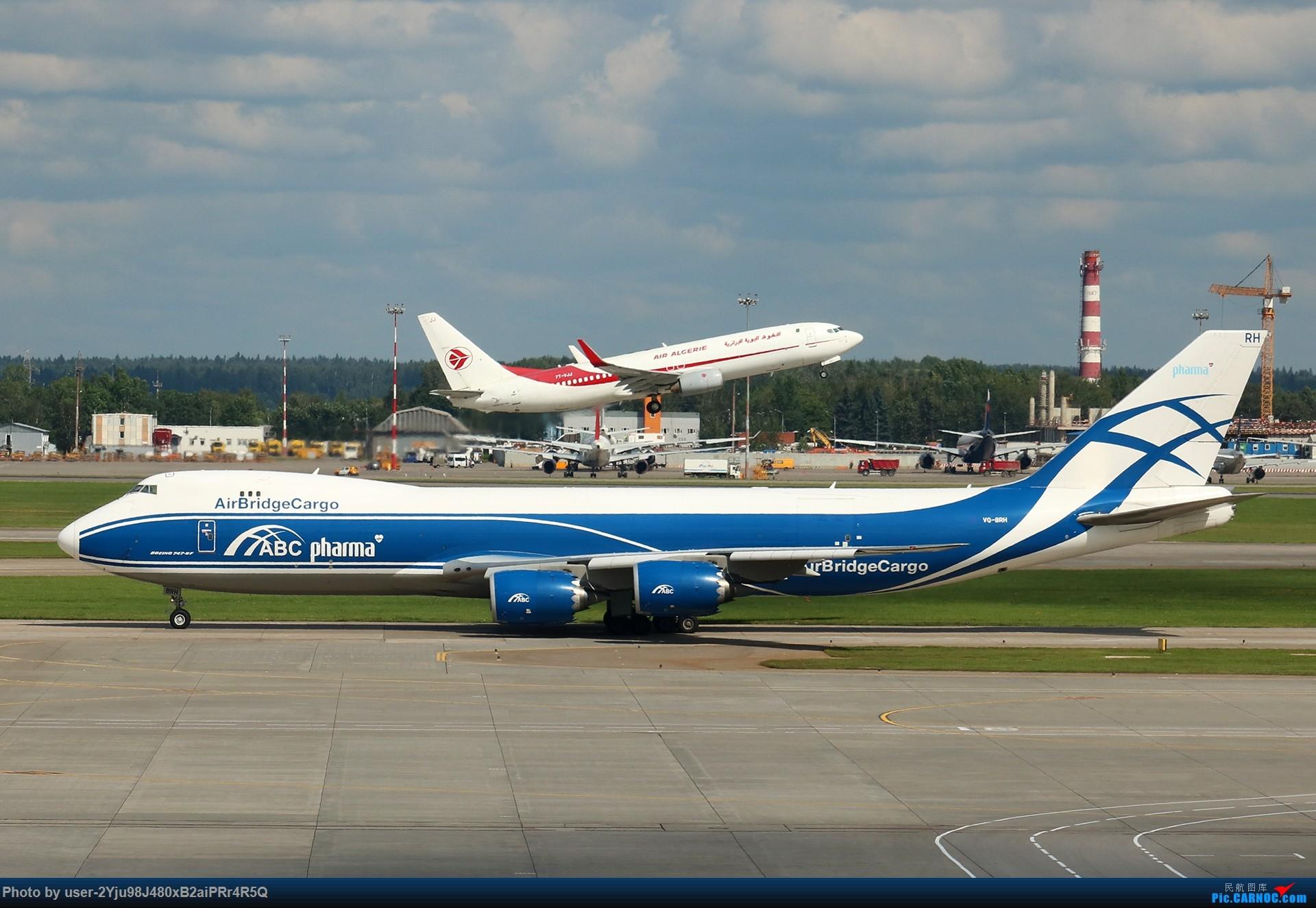 Re:[原创]LIULIU|Sheremetyevo的漫游|俄罗斯空桥货运 BOEING 747-8F VQ-BRH 俄罗斯谢诺梅杰沃机场