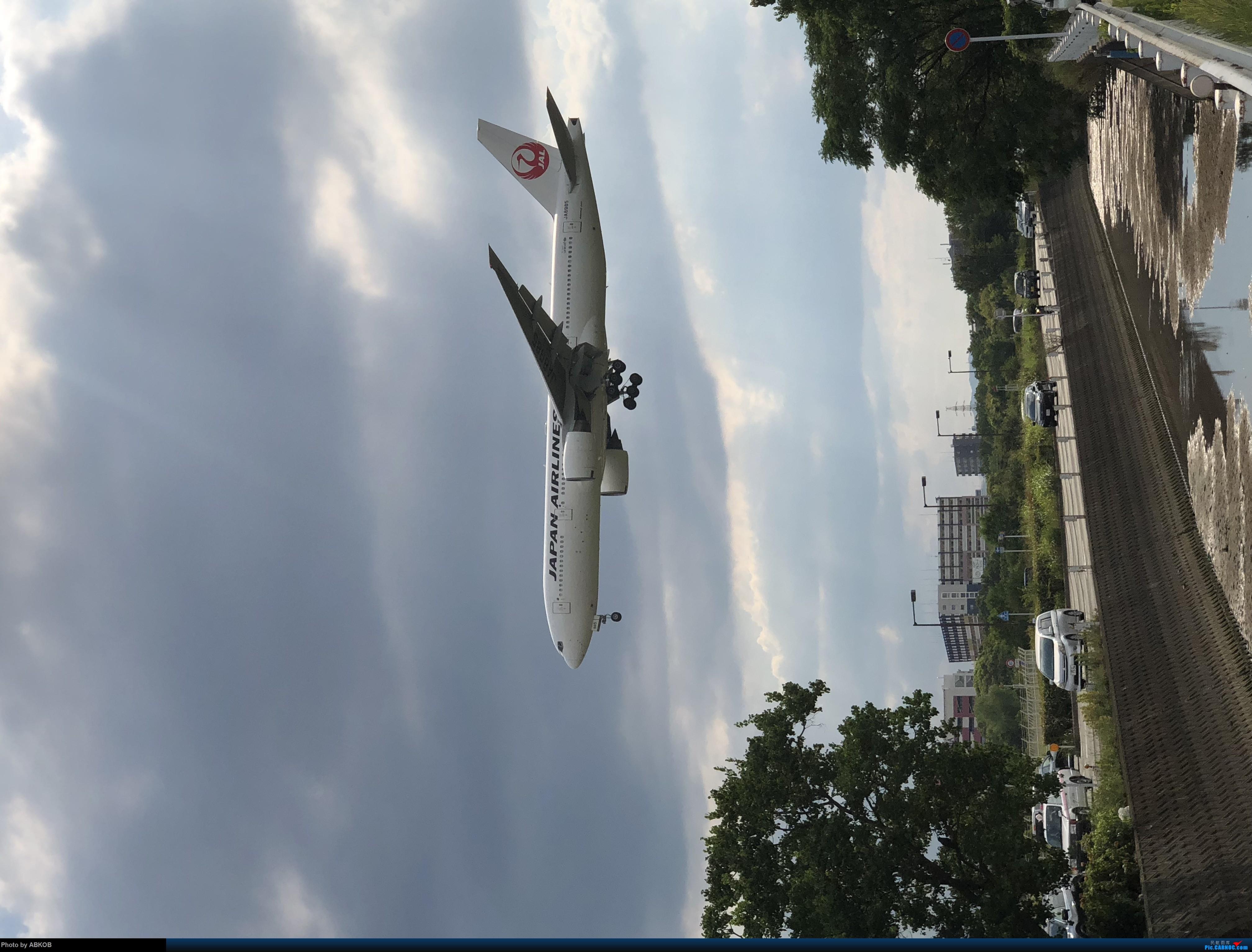 [原创]挤出来的时间福冈拍机 BOEING 777-200 B-8985 日本福冈机场